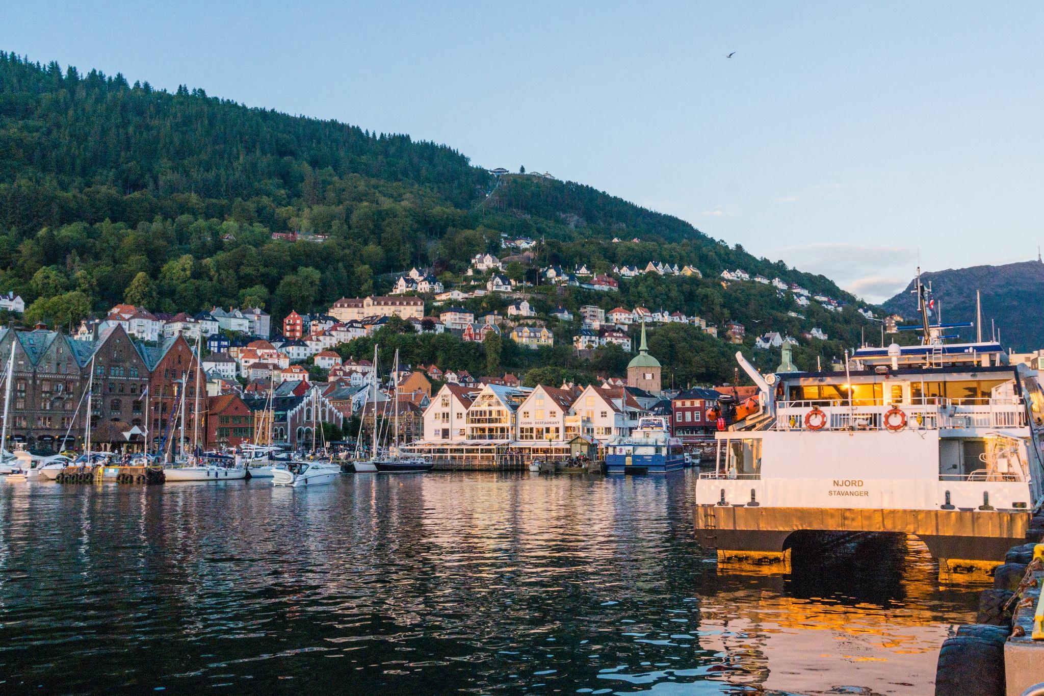 【卑爾根】Fløyen 佛洛伊恩山纜車與觀景台 — 擁抱文化港都的百萬美景 113