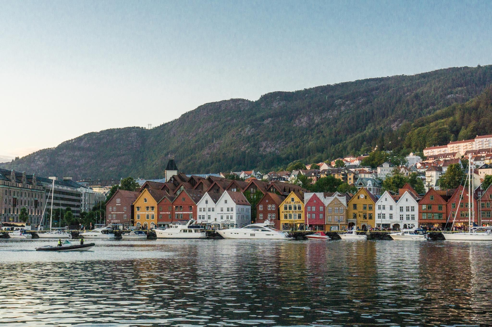 【卑爾根】Fløyen 佛洛伊恩山纜車與觀景台 — 擁抱文化港都的百萬美景 114