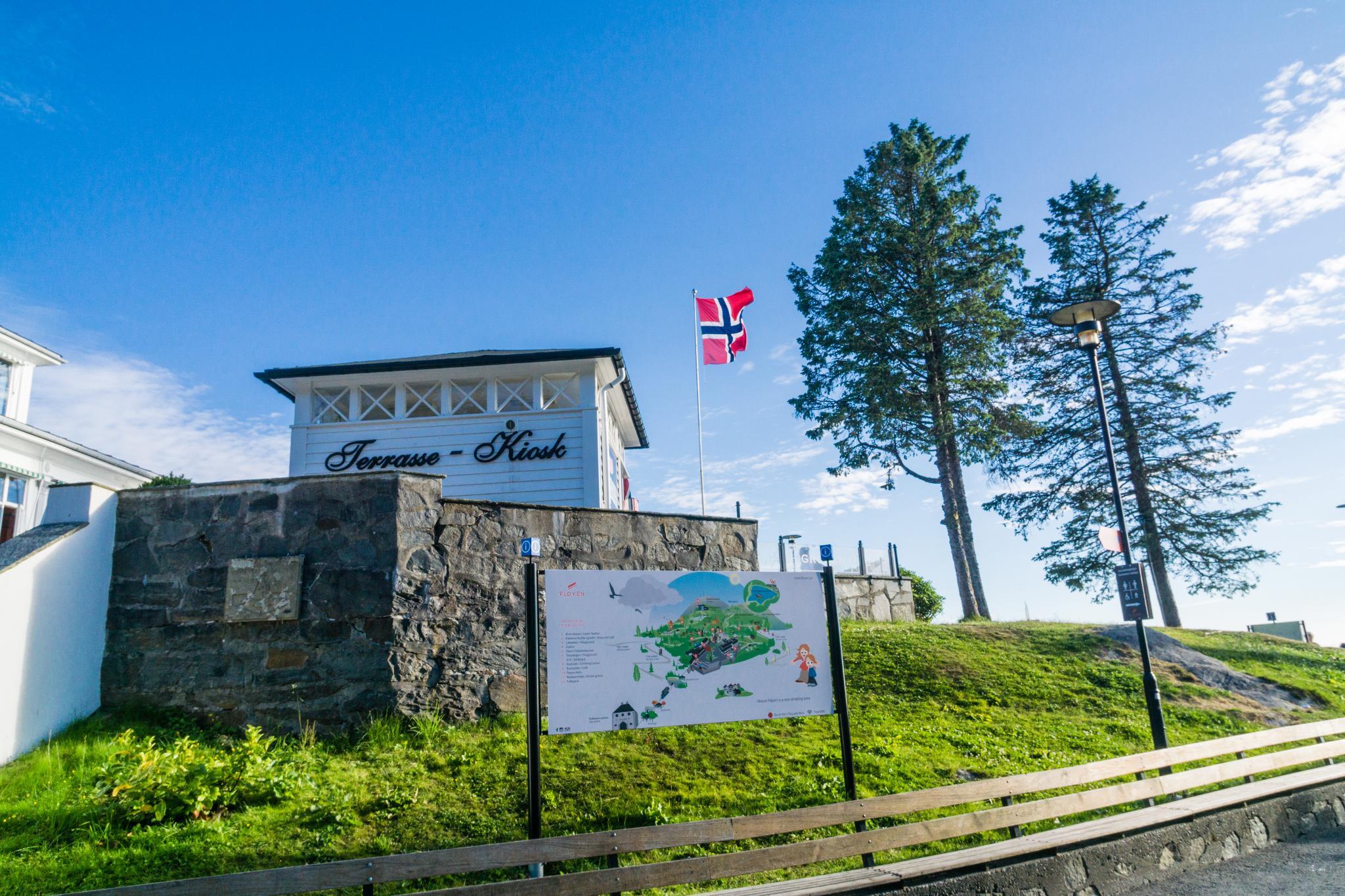 【卑爾根】Fløyen 佛洛伊恩山纜車與觀景台 — 擁抱文化港都的百萬美景 88