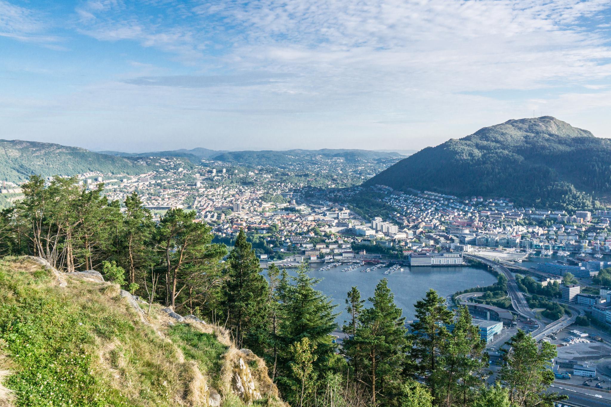 【卑爾根】Fløyen 佛洛伊恩山纜車與觀景台 — 擁抱文化港都的百萬美景 90