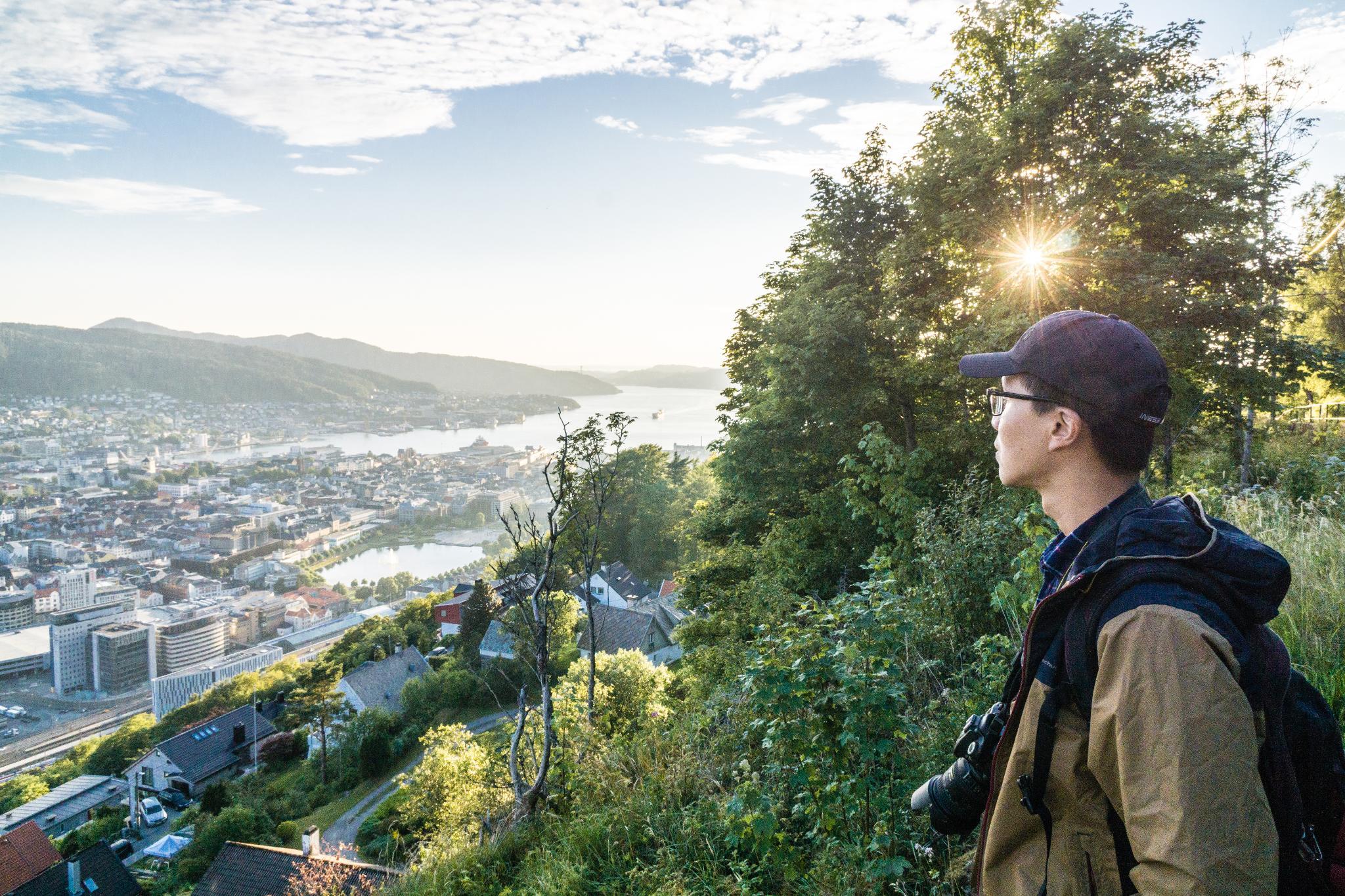 【卑爾根】Fløyen 佛洛伊恩山纜車與觀景台 — 擁抱文化港都的百萬美景 102