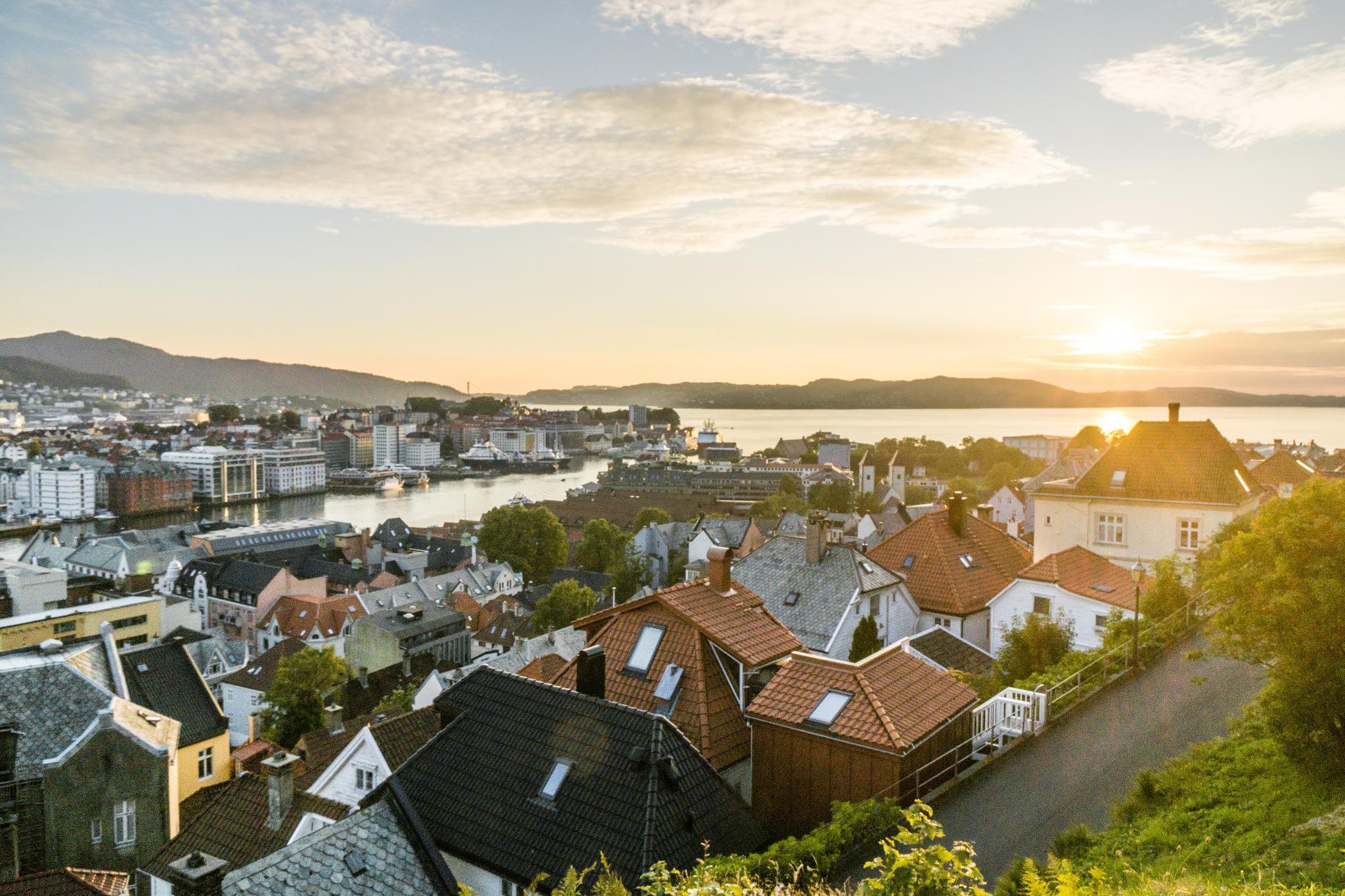 【卑爾根】Fløyen 佛洛伊恩山纜車與觀景台 — 擁抱文化港都的百萬美景 108