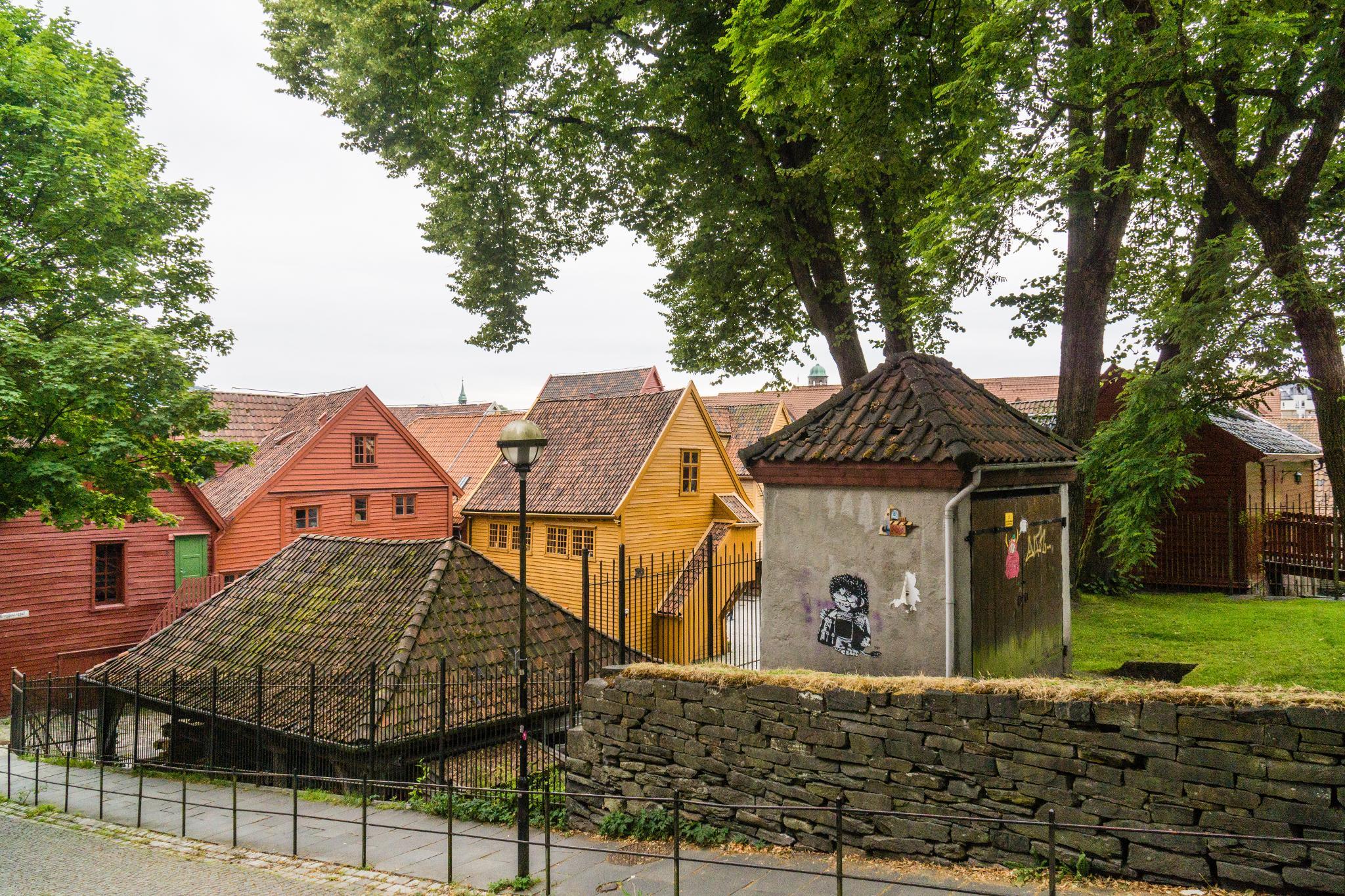 【卑爾根】Bryggen 世界遺產布呂根 — 迷失在百年歷史的挪威彩色木屋 32