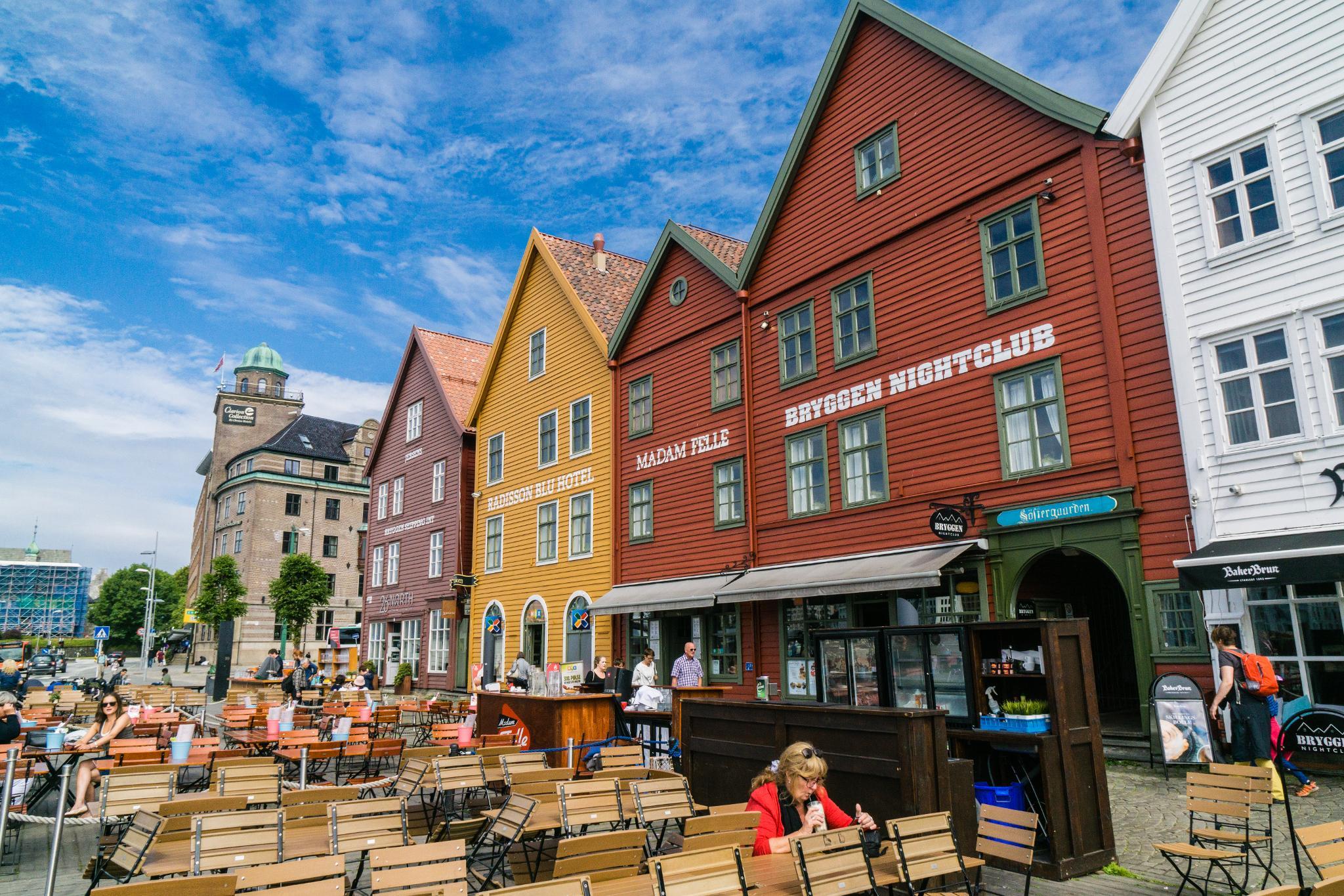 【卑爾根】Bryggen 世界遺產布呂根 — 迷失在百年歷史的挪威彩色木屋