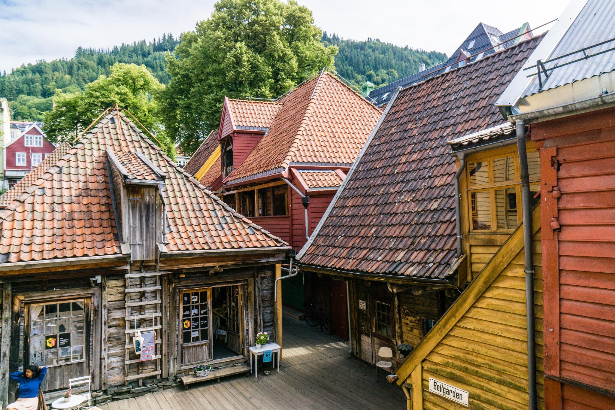 【卑爾根】Bryggen 世界遺產布呂根 — 迷失在百年歷史的挪威彩色木屋 24