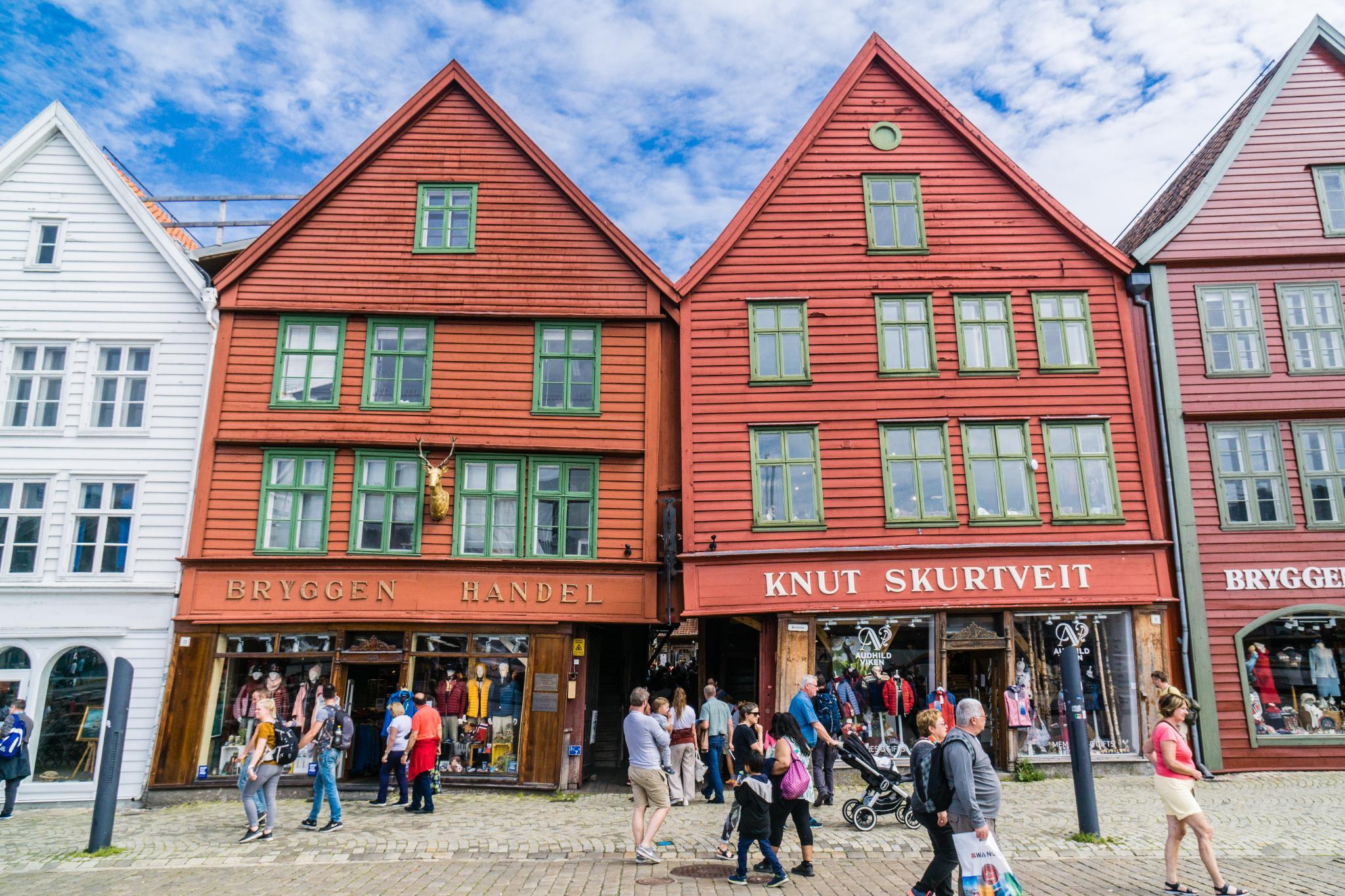 【卑爾根】Bryggen 世界遺產布呂根 — 迷失在百年歷史的挪威彩色木屋 5