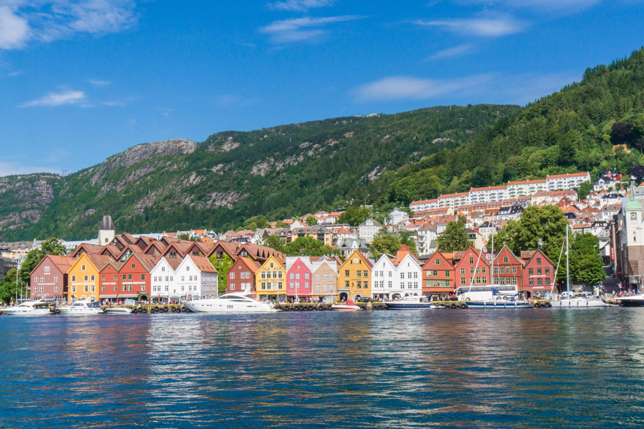 【卑爾根】Bryggen 世界遺產布呂根 — 迷失在百年歷史的挪威彩色木屋 2
