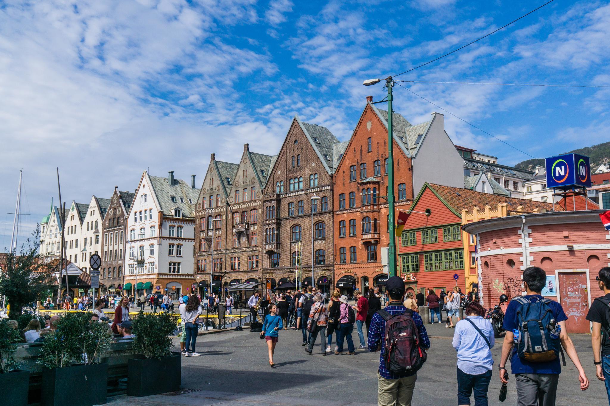 【卑爾根】Bryggen 世界遺產布呂根 — 迷失在百年歷史的挪威彩色木屋 7