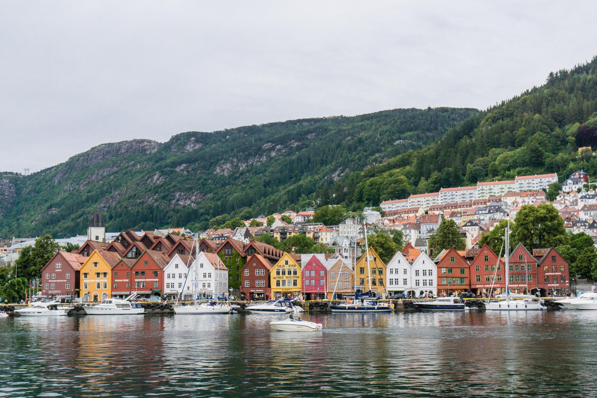 【卑爾根】海鮮吃貨~前進價格不菲的卑爾根魚市場 Fisketorget 58