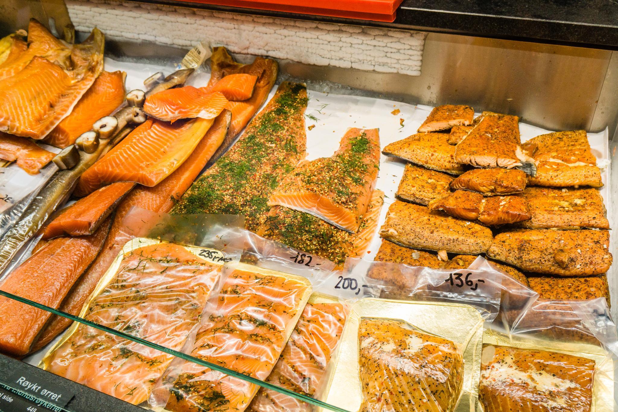 【卑爾根】海鮮吃貨~前進價格不菲的卑爾根魚市場 Fisketorget 52