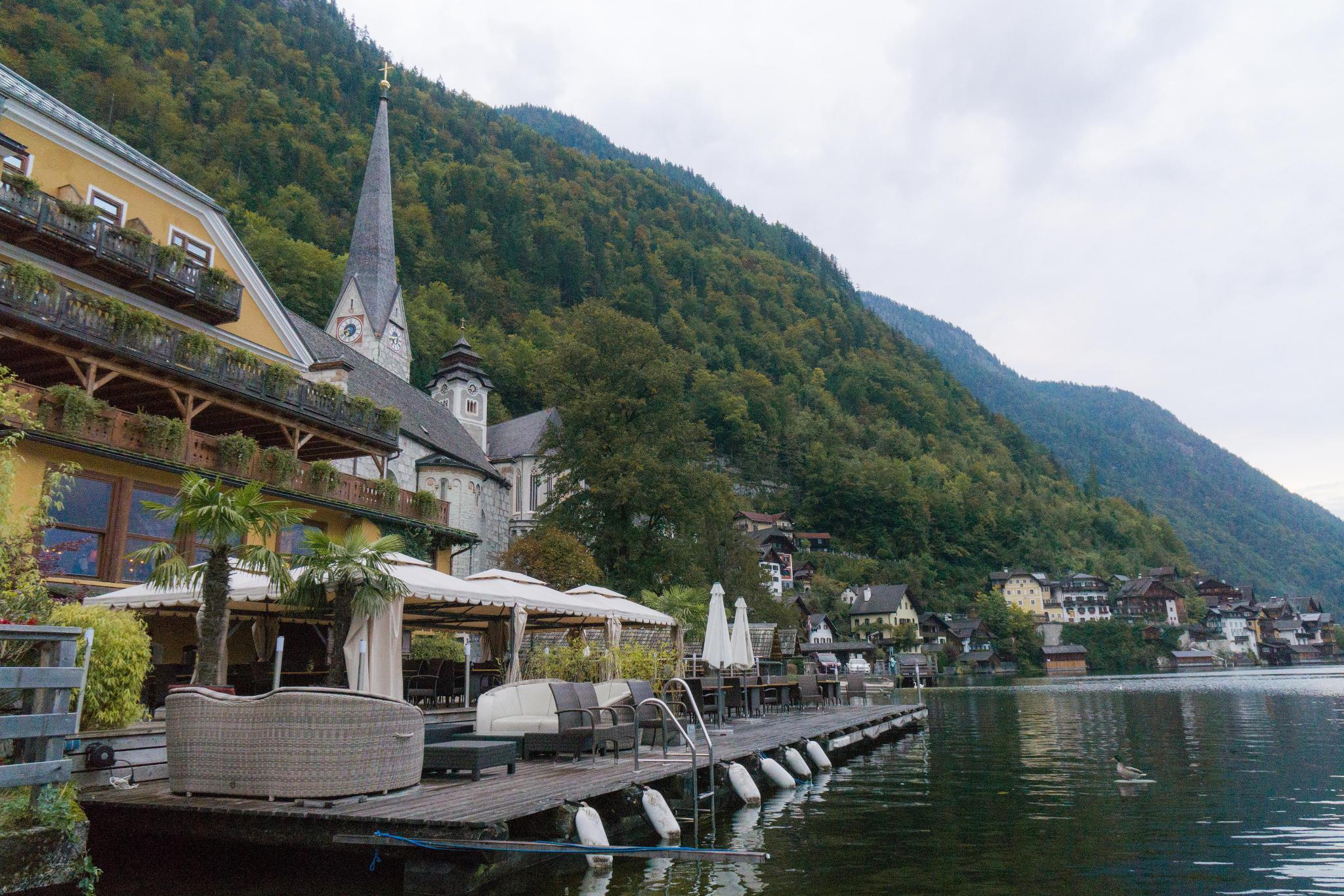 【奧地利】童話仙境 Hallstatt 哈修塔特 — 追逐世界遺產小鎮的夢幻黃金日出 33