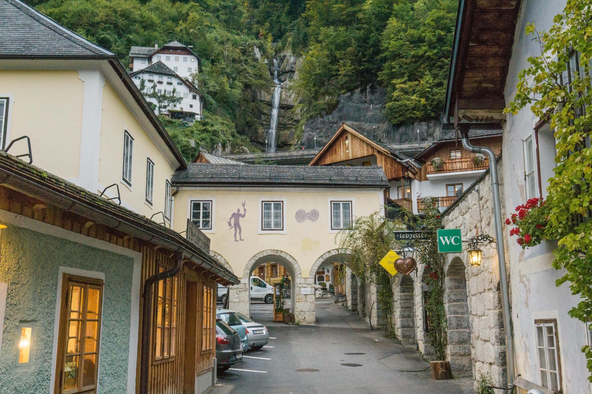 【奧地利】童話仙境 Hallstatt 哈修塔特 — 追逐世界遺產小鎮的夢幻黃金日出 35