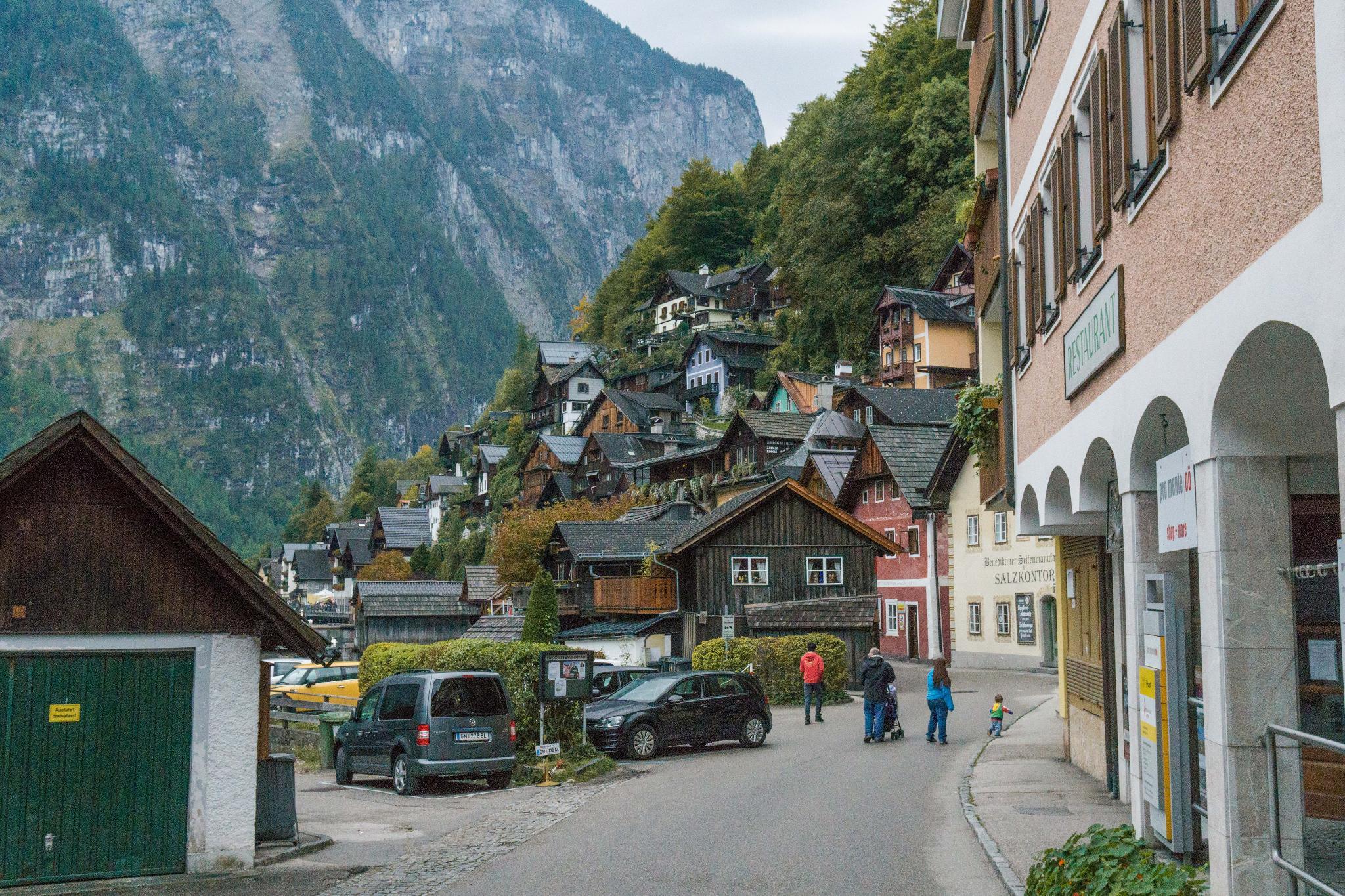 【奧地利】童話仙境 Hallstatt 哈修塔特 — 追逐世界遺產小鎮的夢幻黃金日出 36