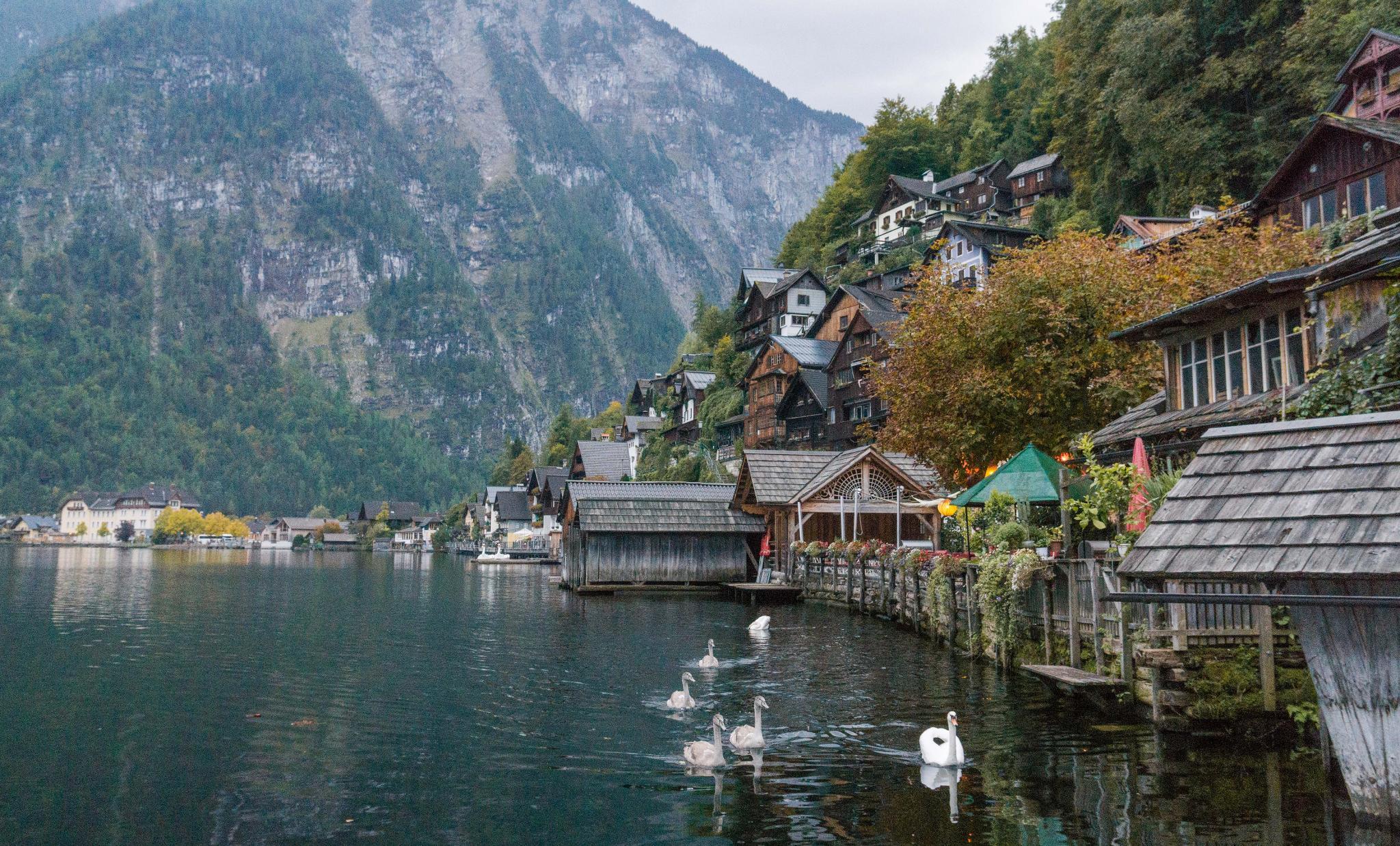 【奧地利】童話仙境 Hallstatt 哈修塔特 — 追逐世界遺產小鎮的夢幻黃金日出 37