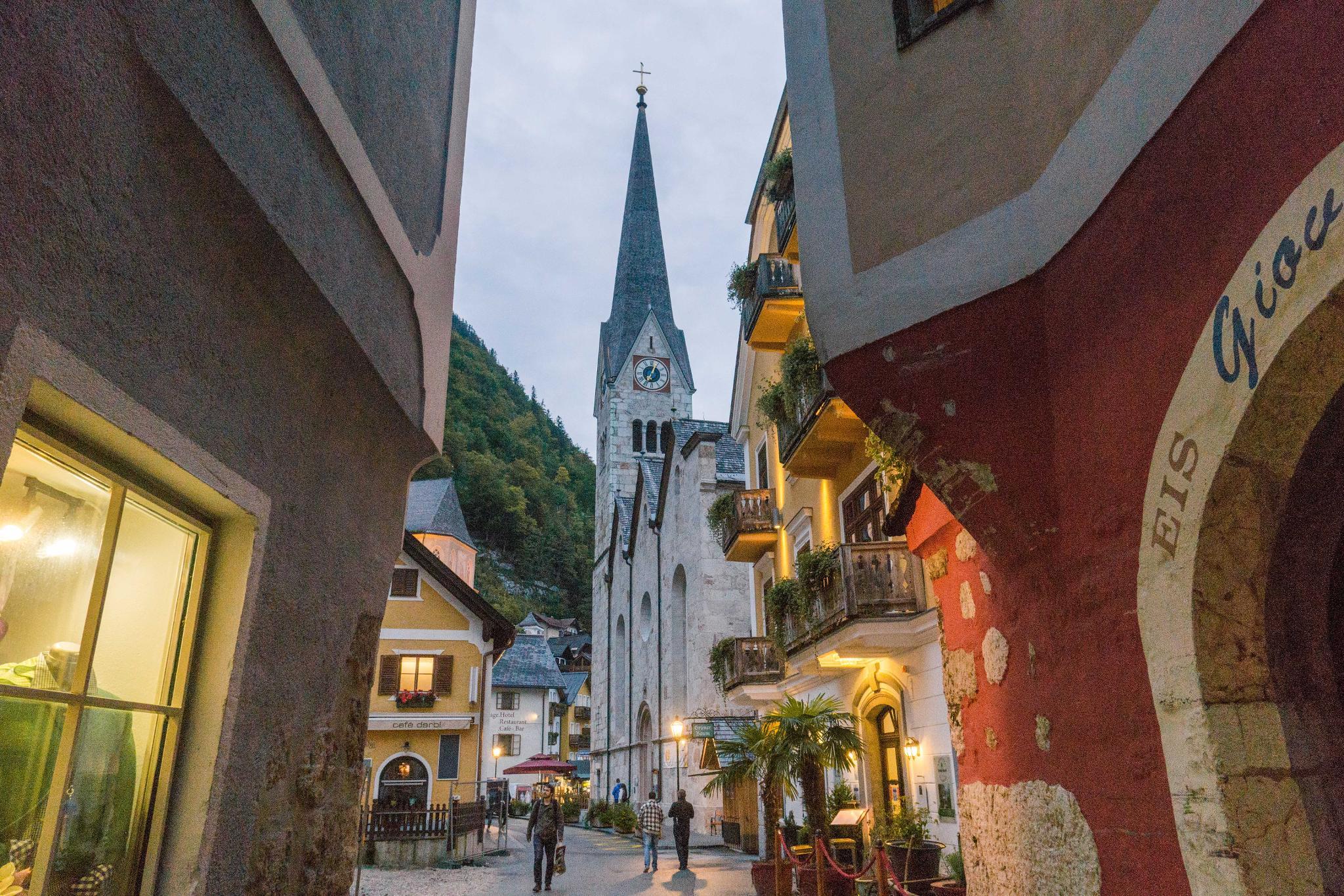 【奧地利】童話仙境 Hallstatt 哈修塔特 — 追逐世界遺產小鎮的夢幻黃金日出 41