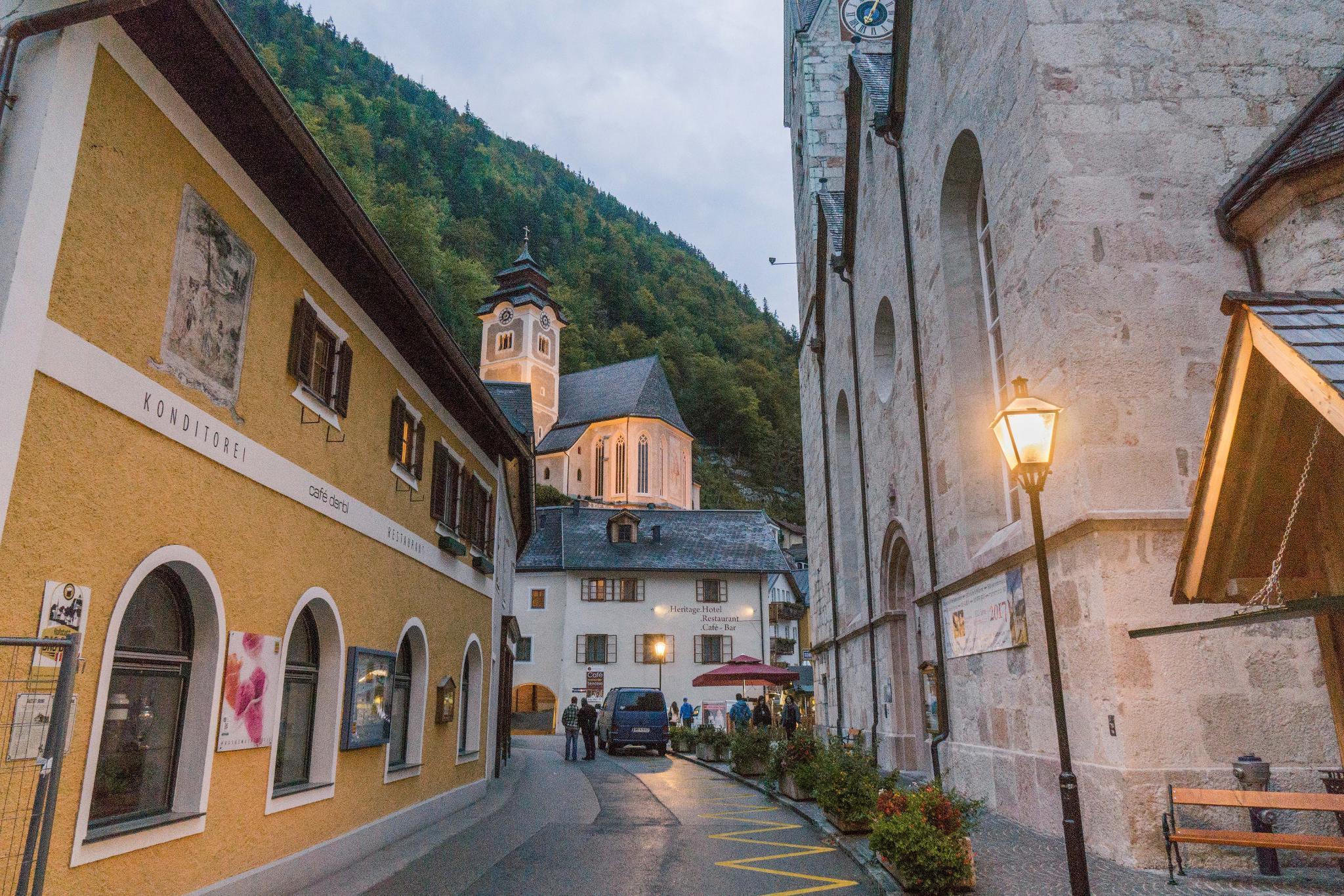 【奧地利】童話仙境 Hallstatt 哈修塔特 — 追逐世界遺產小鎮的夢幻黃金日出 42