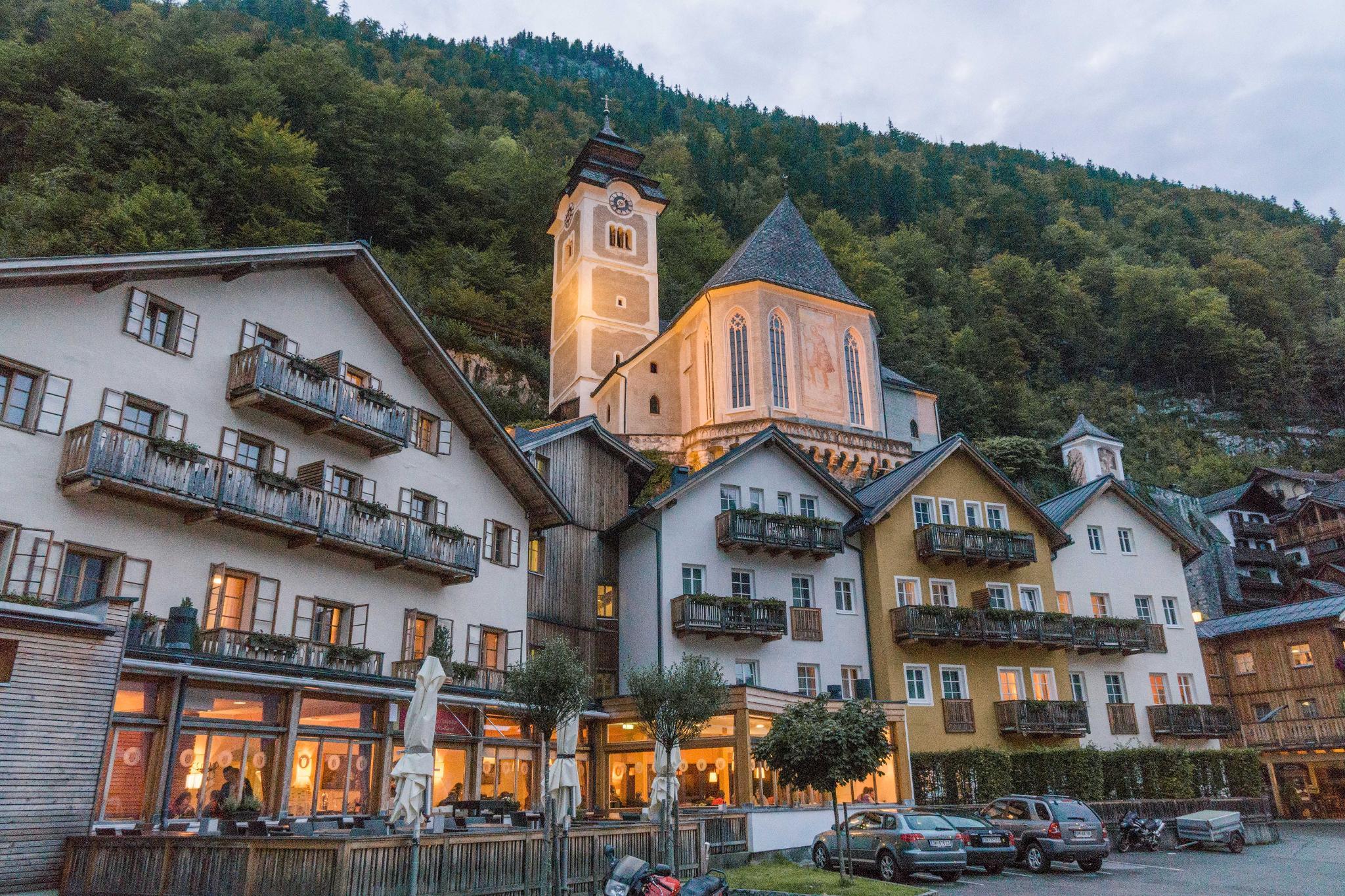 【奧地利】童話仙境 Hallstatt 哈修塔特 — 追逐世界遺產小鎮的夢幻黃金日出 44