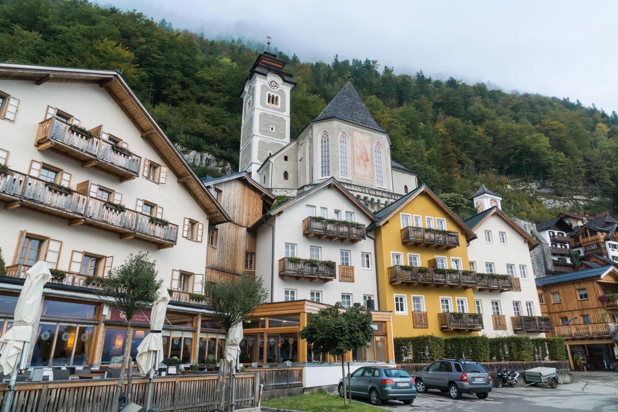 【奧地利】童話仙境 Hallstatt 哈修塔特 — 追逐世界遺產小鎮的夢幻黃金日出 11