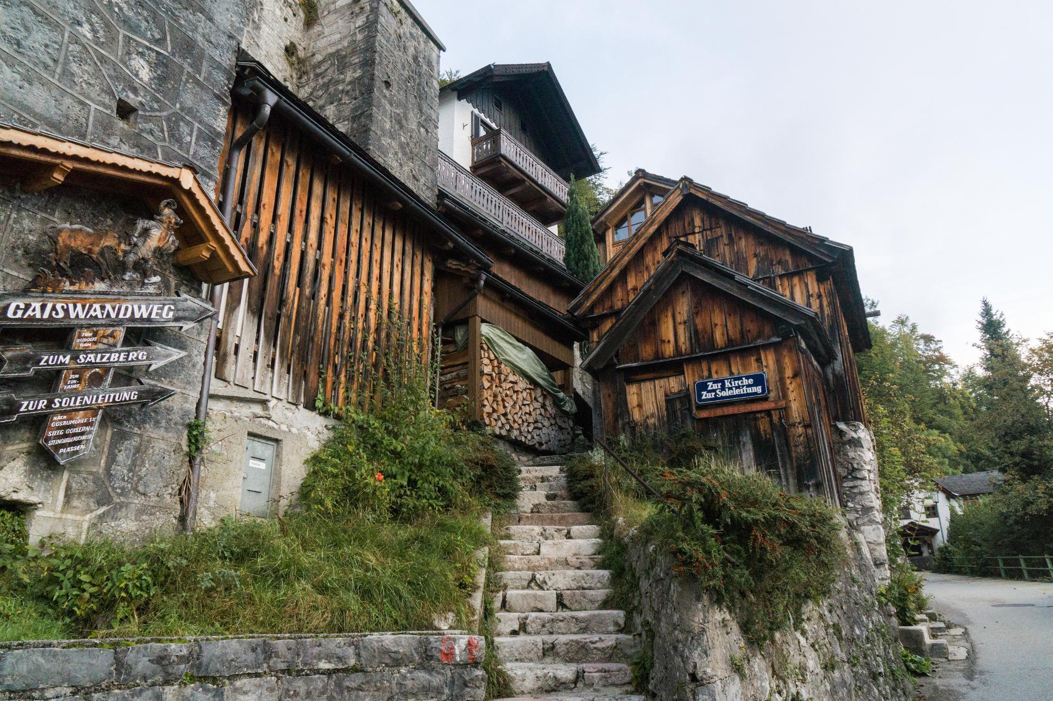 【奧地利】童話仙境 Hallstatt 哈修塔特 — 追逐世界遺產小鎮的夢幻黃金日出 13