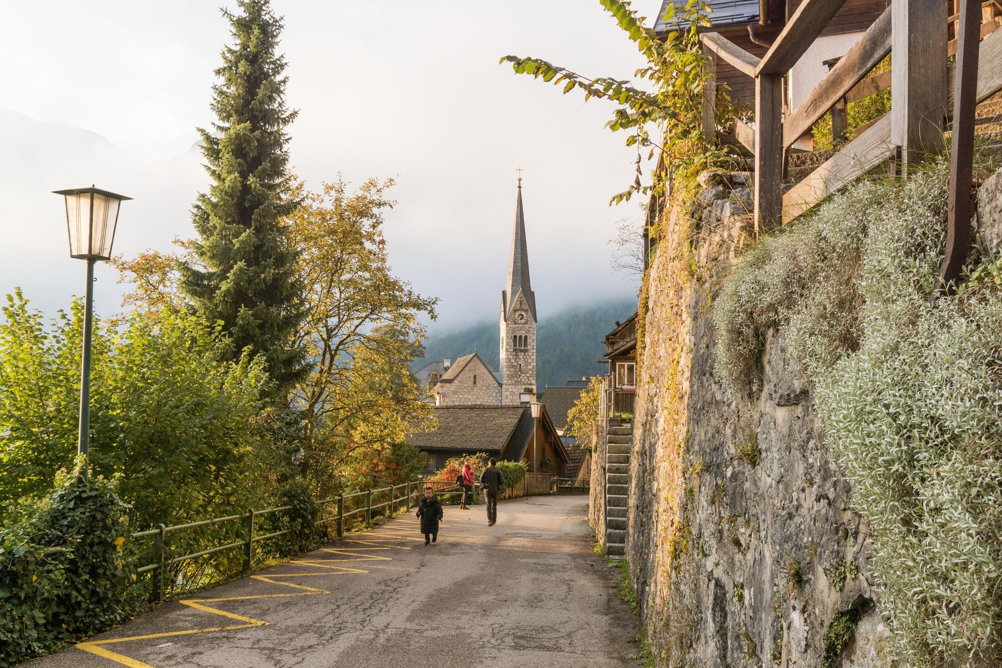 【奧地利】童話仙境 Hallstatt 哈修塔特 — 追逐世界遺產小鎮的夢幻黃金日出 18