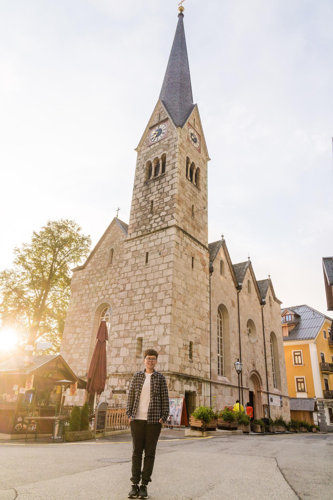 【奧地利】童話仙境 Hallstatt 哈修塔特 — 追逐世界遺產小鎮的夢幻黃金日出 19