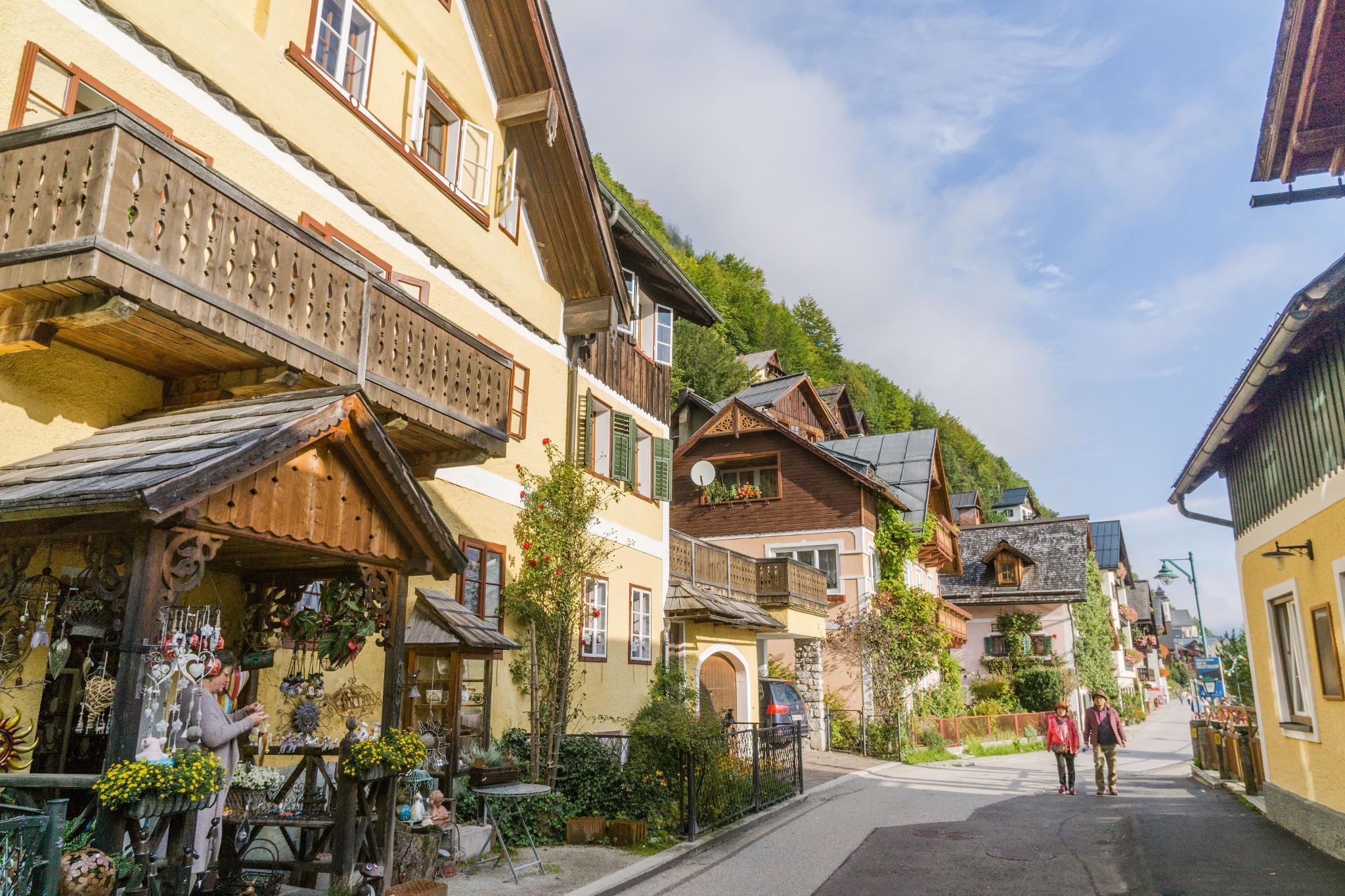 【奧地利】童話仙境 Hallstatt 哈修塔特 — 追逐世界遺產小鎮的夢幻黃金日出 22