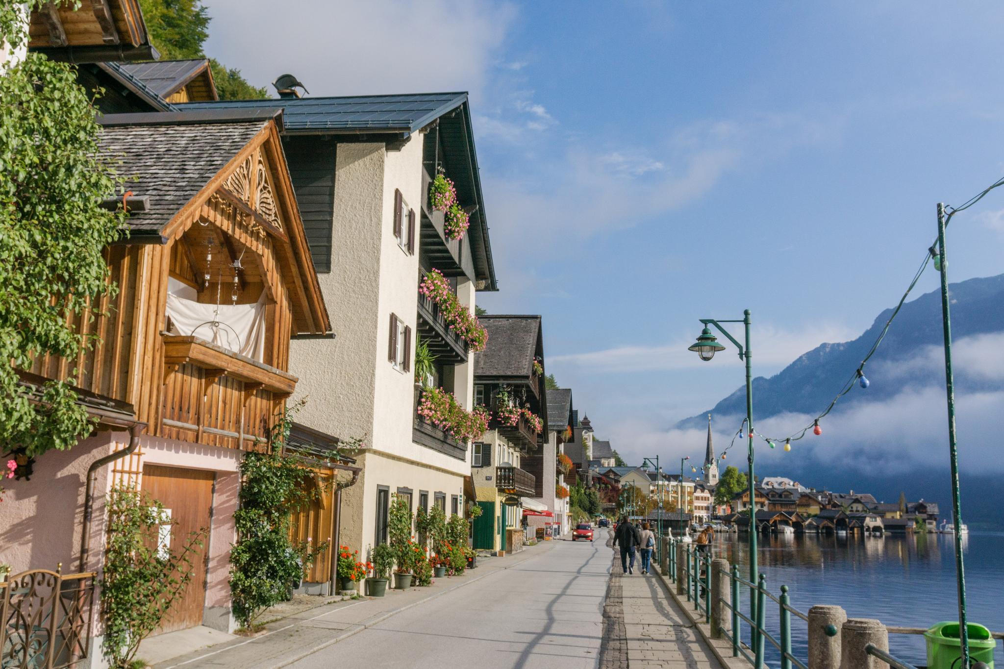 【奧地利】童話仙境 Hallstatt 哈修塔特 — 追逐世界遺產小鎮的夢幻黃金日出 23