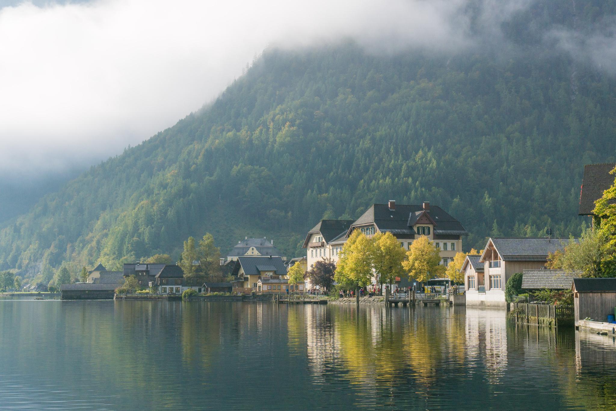 【奧地利】童話仙境 Hallstatt 哈修塔特 — 追逐世界遺產小鎮的夢幻黃金日出 26