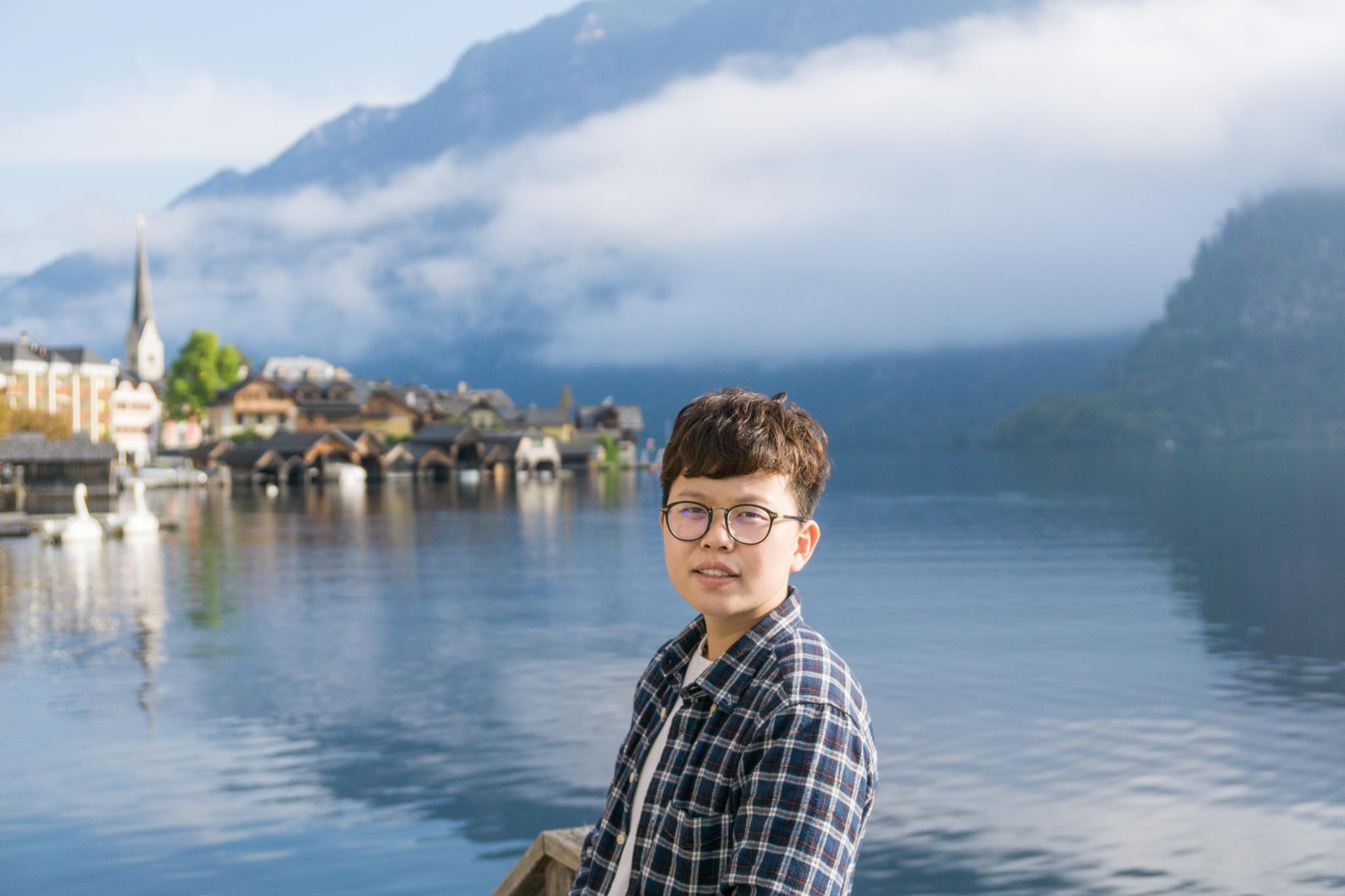 【奧地利】童話仙境 Hallstatt 哈修塔特 — 追逐世界遺產小鎮的夢幻黃金日出 9