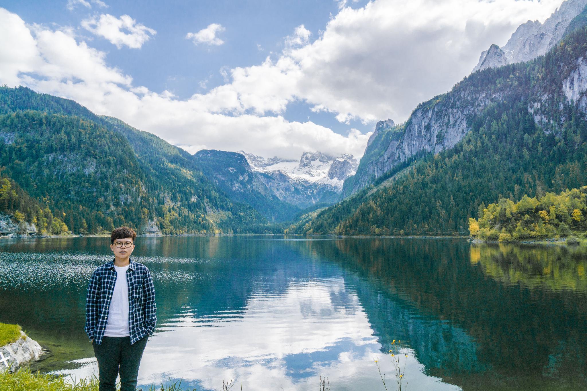 【奧地利】遠離塵囂!哈修塔特周邊的絕美湖泊 — 高薩湖 Gosausee 湖濱散記 11