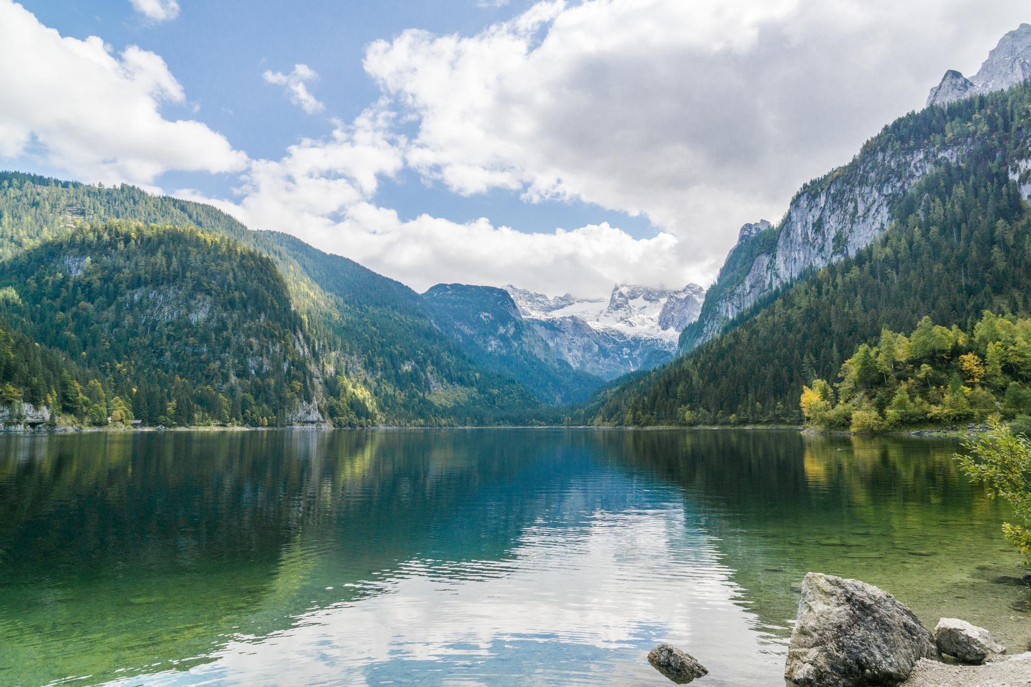 【奧地利】遠離塵囂!哈修塔特周邊的絕美湖泊 — 高薩湖 Gosausee 湖濱散記 16