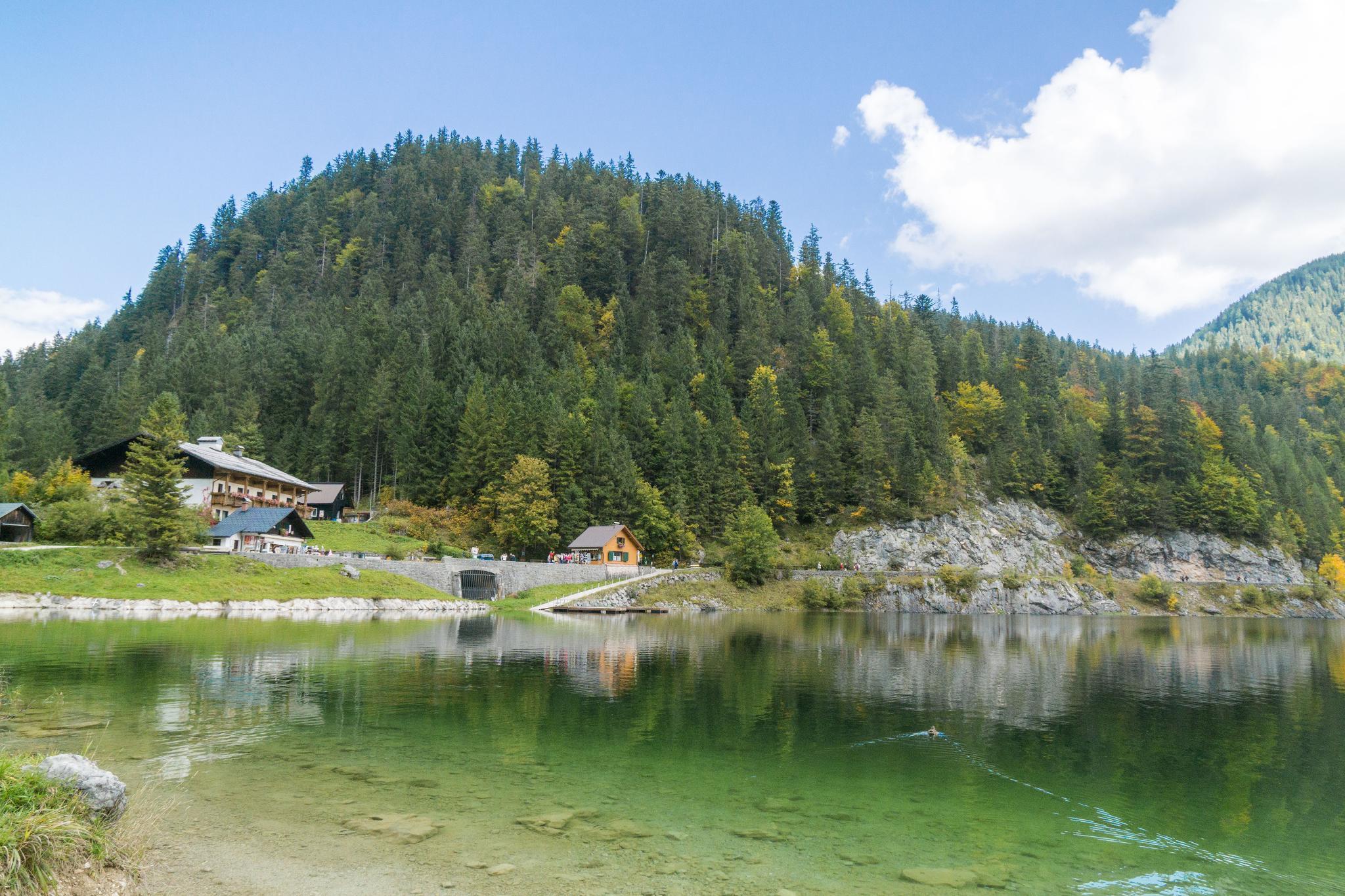 【奧地利】遠離塵囂!哈修塔特周邊的絕美湖泊 — 高薩湖 Gosausee 湖濱散記 14