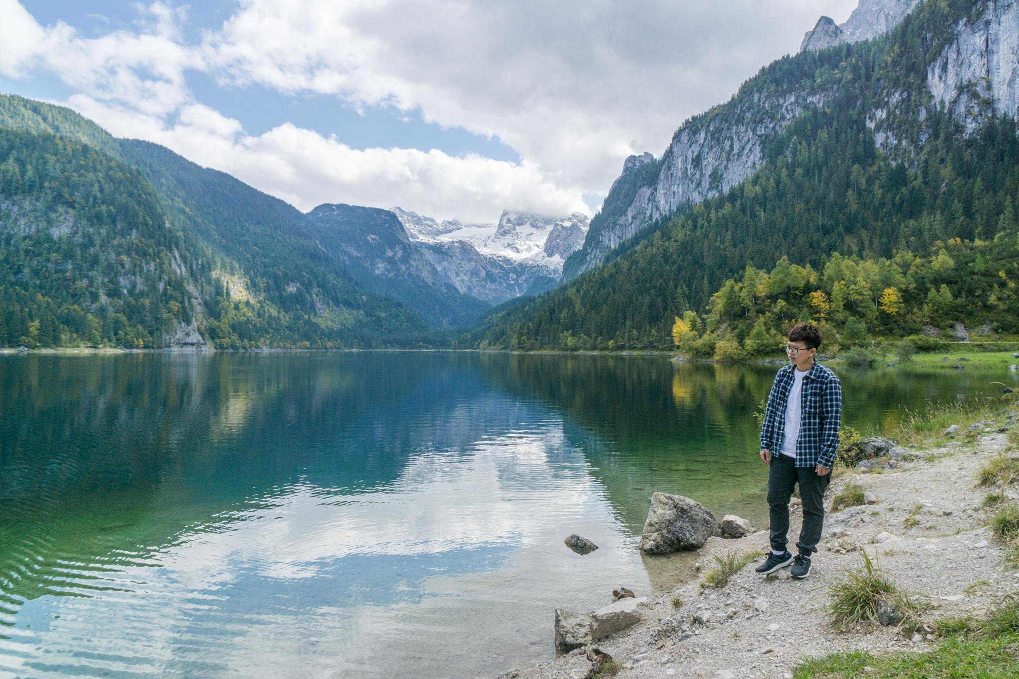 【奧地利】遠離塵囂!哈修塔特周邊的絕美湖泊 — 高薩湖 Gosausee 湖濱散記 17
