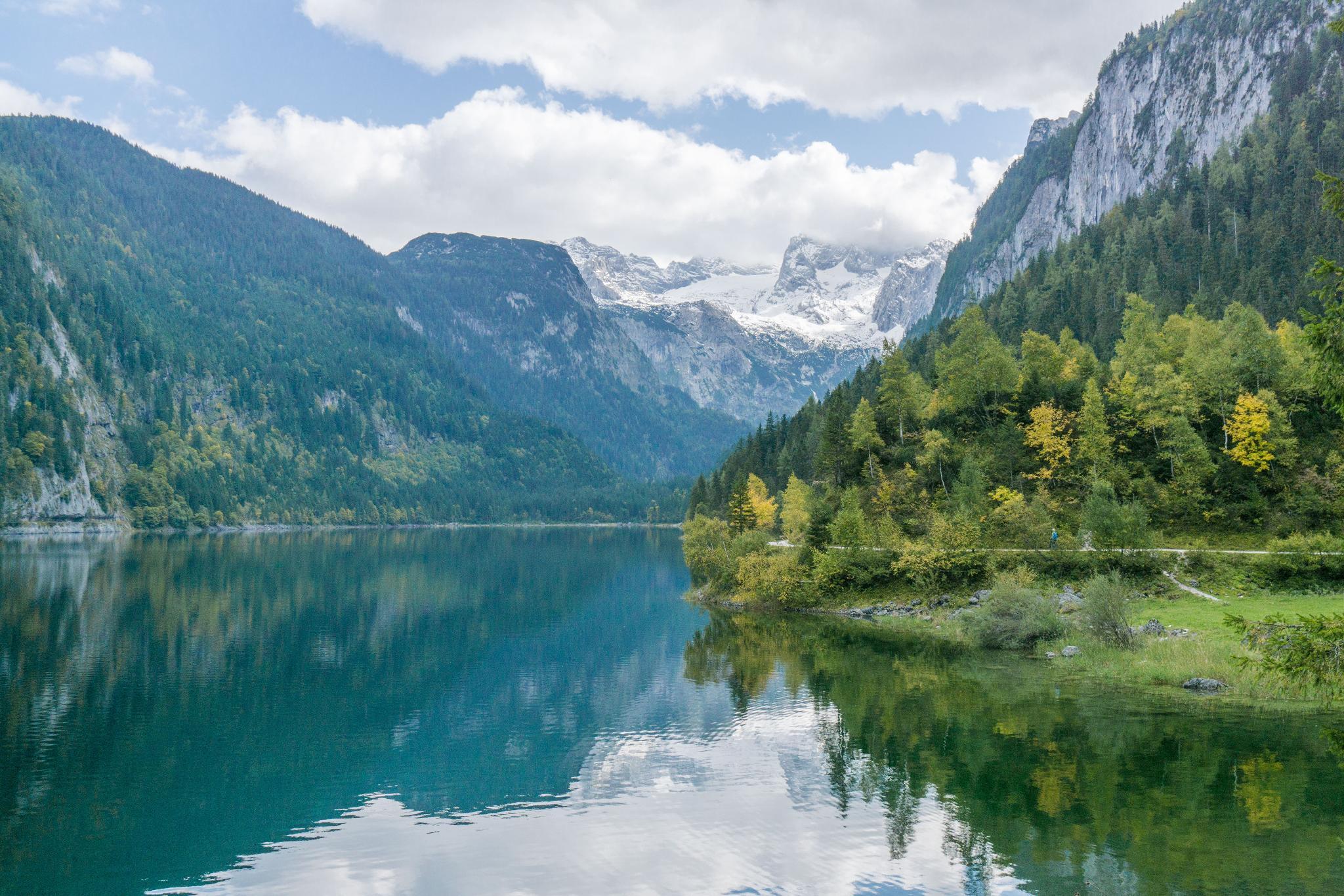 【奧地利】遠離塵囂!哈修塔特周邊的絕美湖泊 — 高薩湖 Gosausee 湖濱散記 18