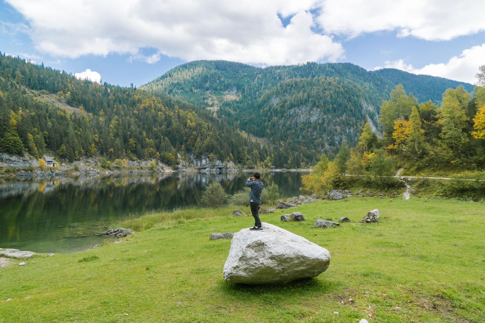 【奧地利】遠離塵囂!哈修塔特周邊的絕美湖泊 — 高薩湖 Gosausee 湖濱散記 19