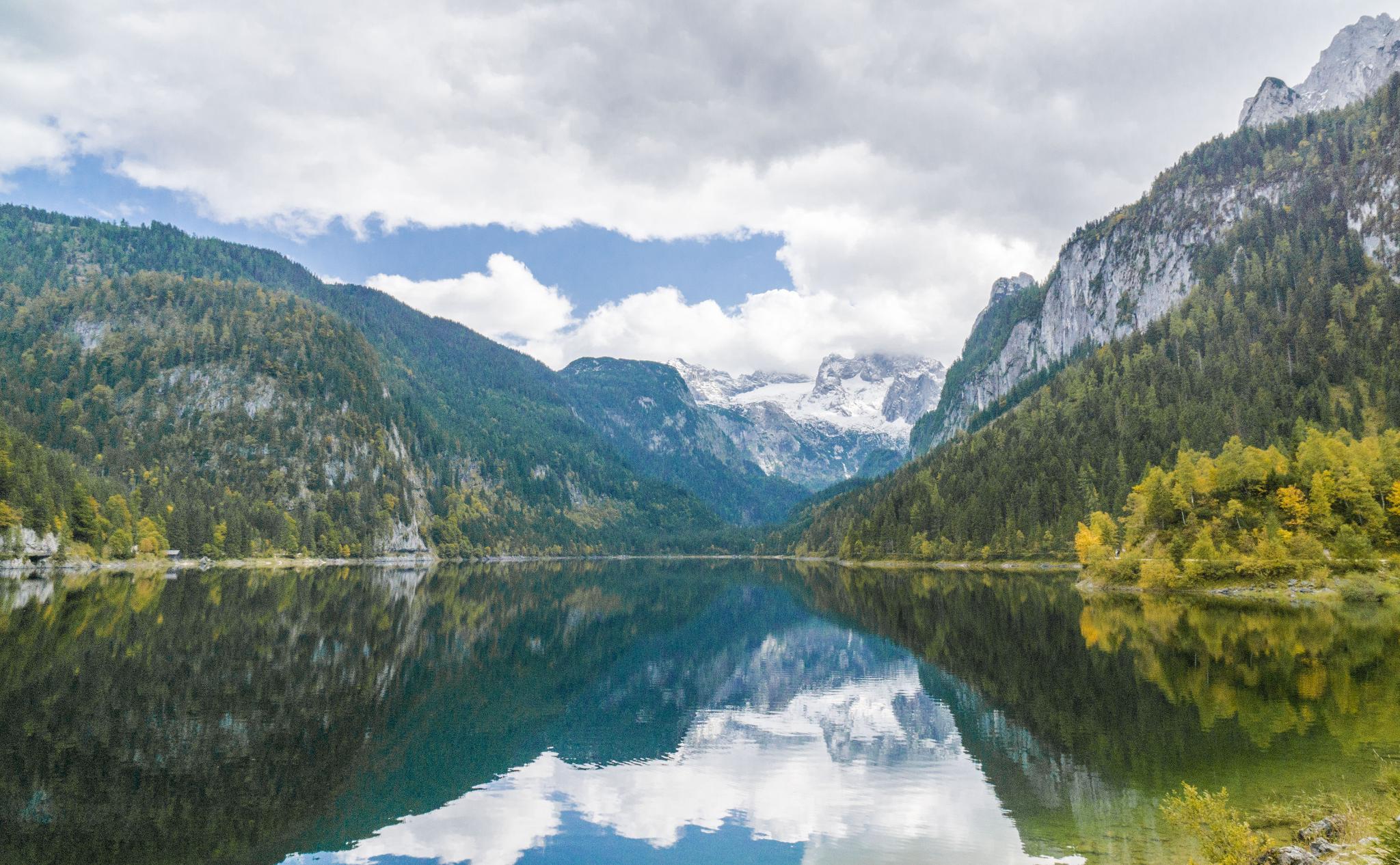 【奧地利】遠離塵囂!哈修塔特周邊的絕美湖泊 — 高薩湖 Gosausee 湖濱散記 24