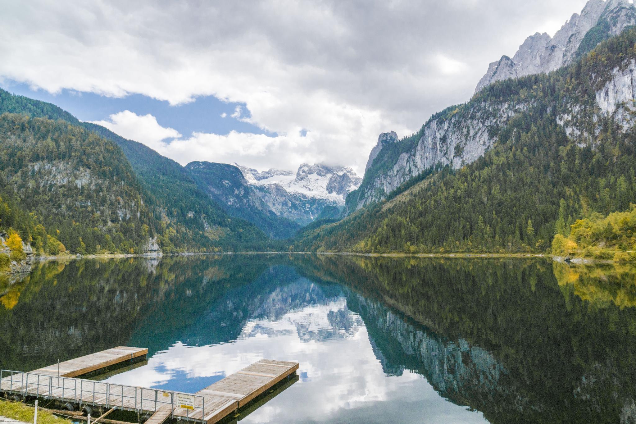 【奧地利】遠離塵囂!哈修塔特周邊的絕美湖泊 — 高薩湖 Gosausee 湖濱散記 2