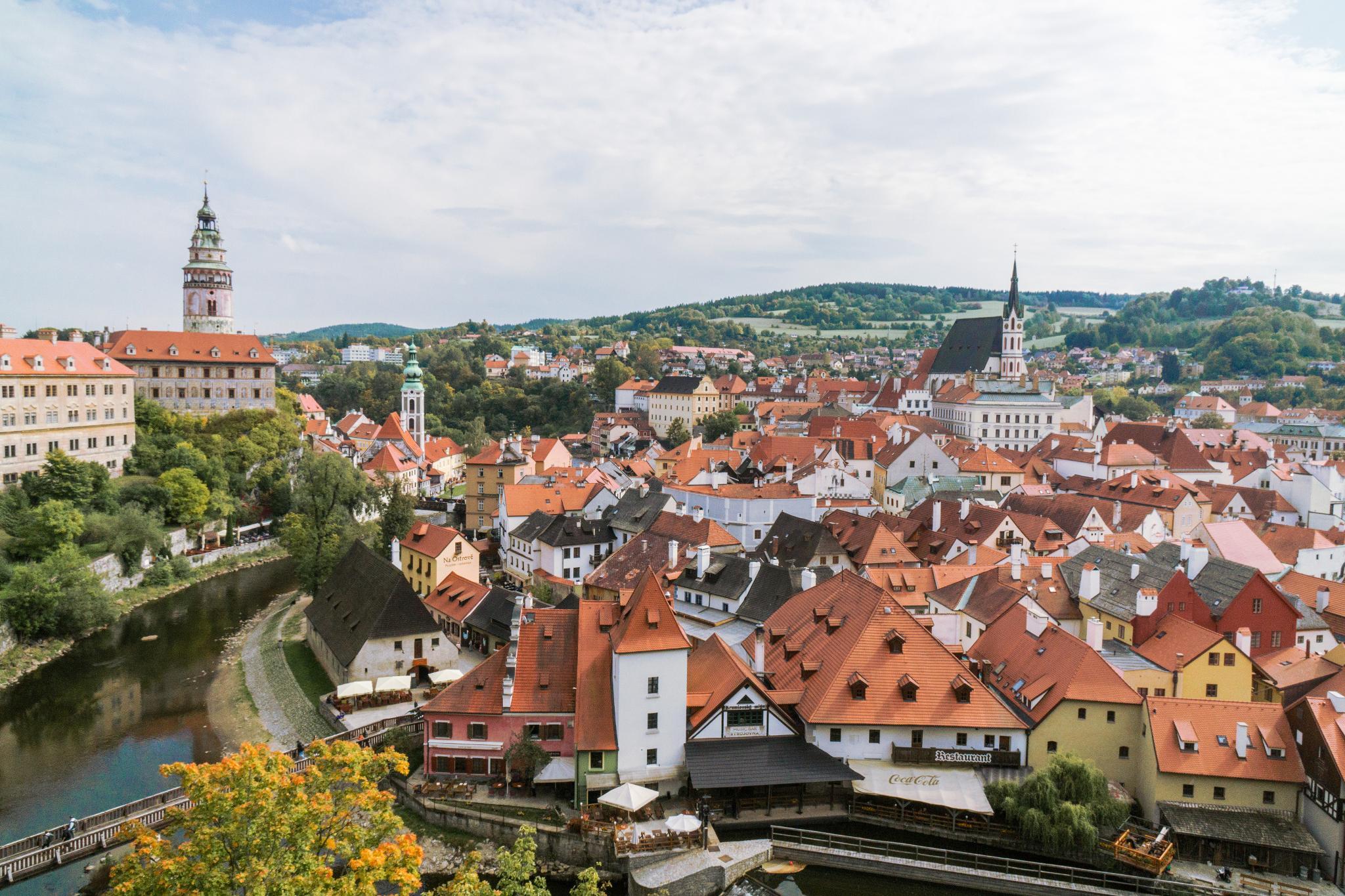 【捷克】Český Krumlov 庫倫諾夫 — 穿梭最美的中世紀童話小鎮