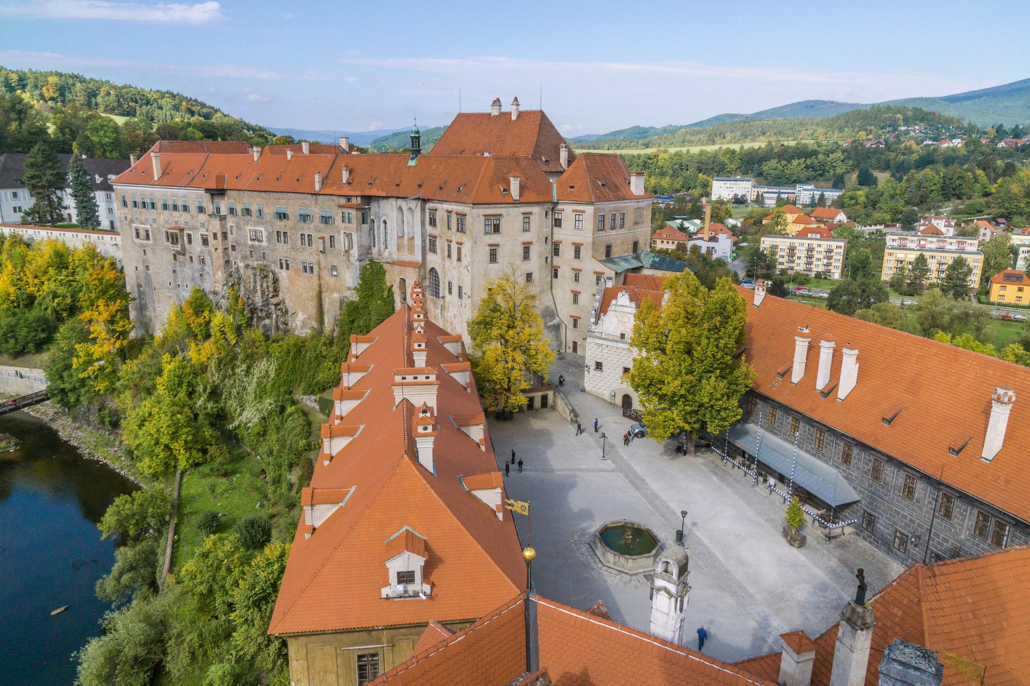 【捷克】穿越時空的波希米亞狂想曲 — Český Krumlov Castle 庫倫諾夫城堡