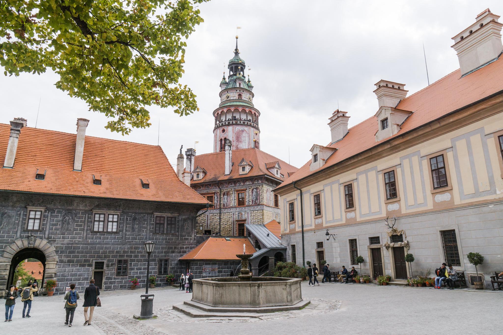 【捷克】穿越時空的波希米亞狂想曲 — Český Krumlov Castle 庫倫諾夫城堡 5