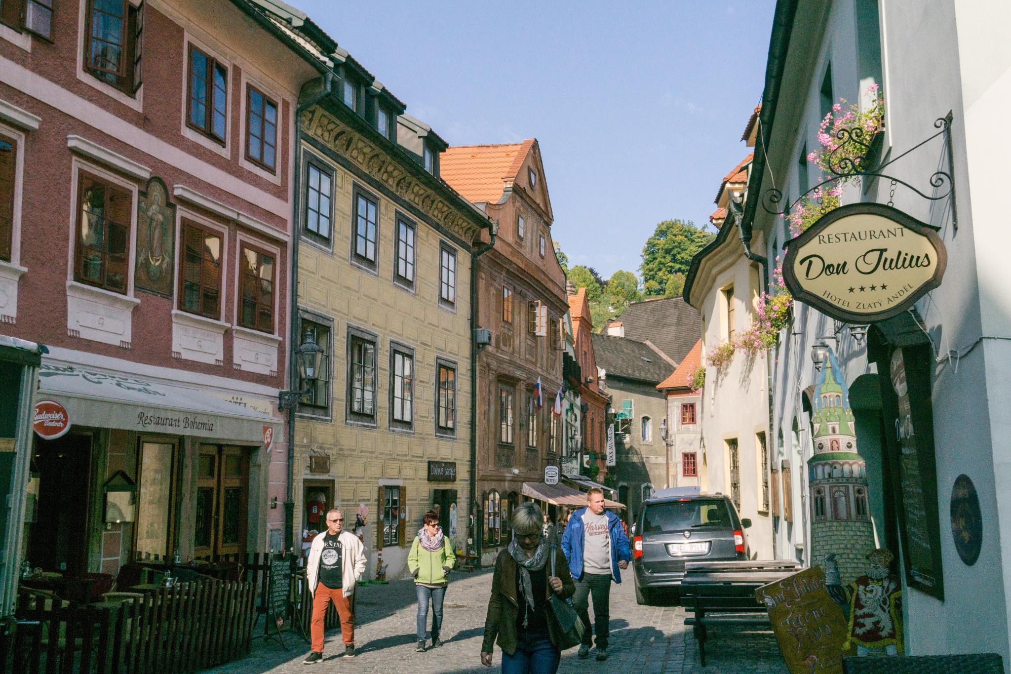 【捷克】Český Krumlov 庫倫諾夫 — 穿梭最美的中世紀童話小鎮 37