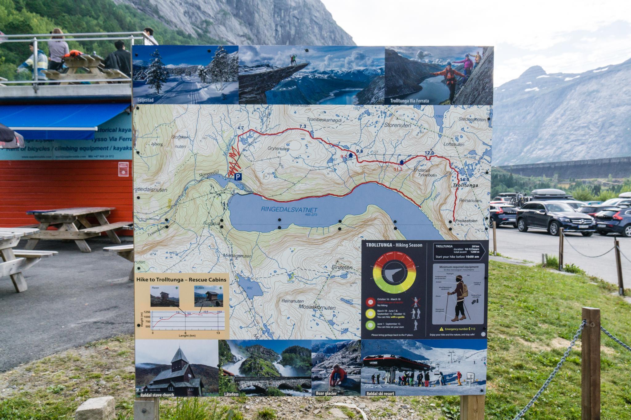 【北歐景點】挪威惡魔之舌 Trolltunga — 28公里健行挑戰全攻略 177