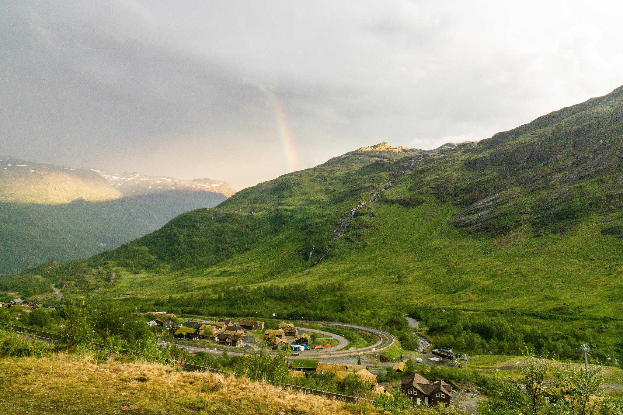 【北歐景點】中世紀的朝聖者之路:百年歷史的Røldal小鎮 2