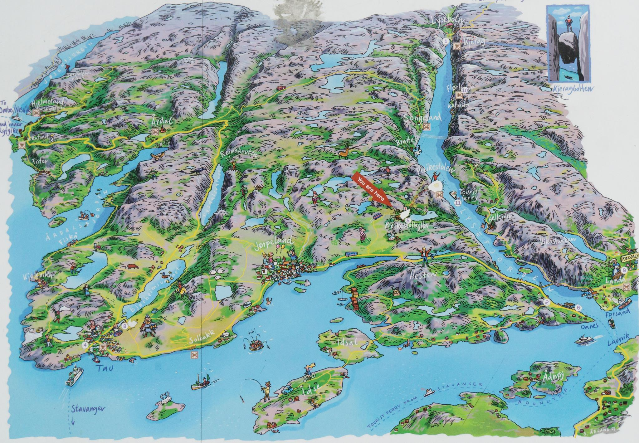 【北歐景點】朝聖挪威三大奇岩:聖壇岩Preikestolen健行紀錄 6