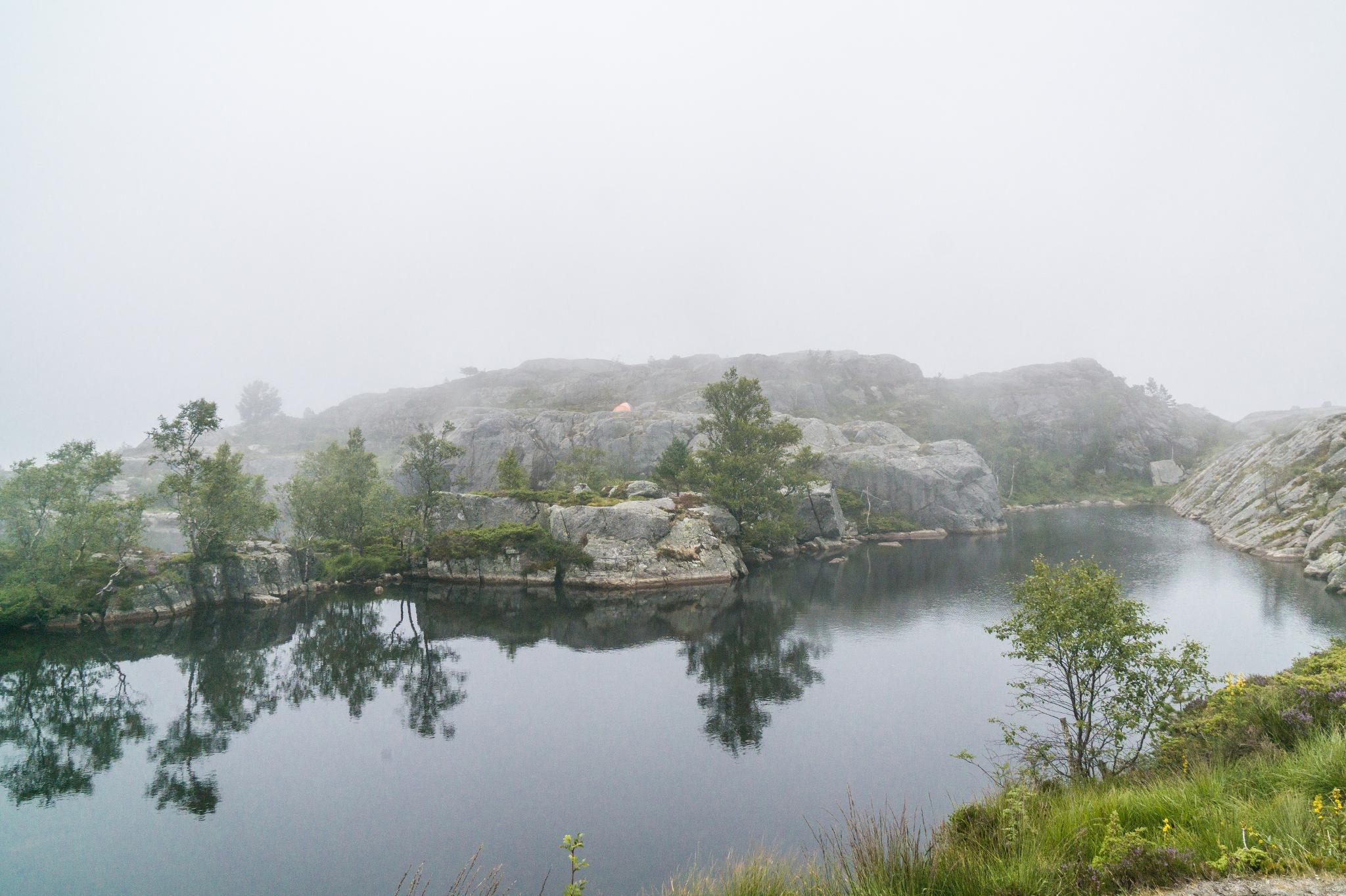 【北歐景點】朝聖挪威三大奇岩:聖壇岩Preikestolen健行紀錄 13