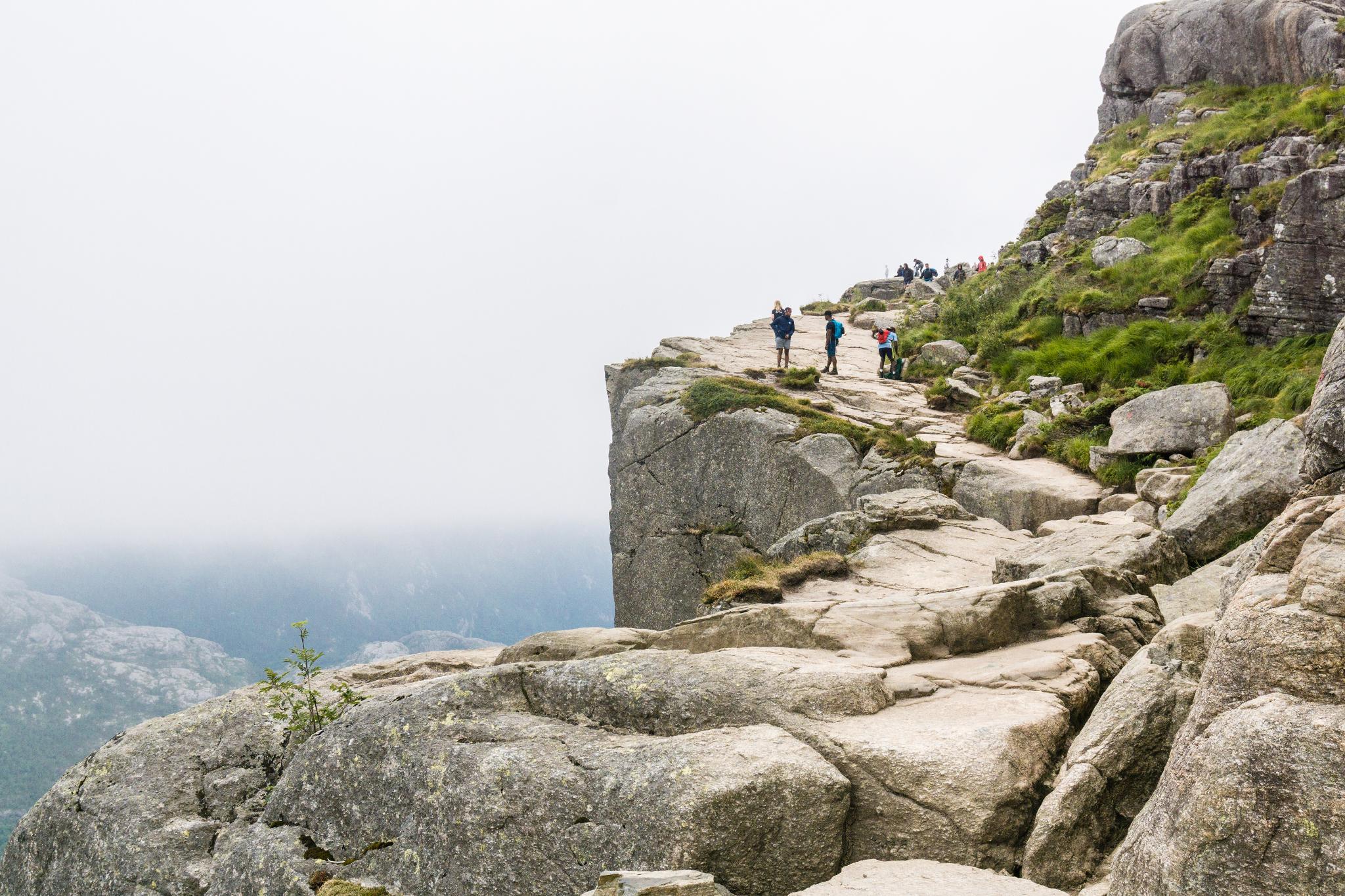 【北歐景點】朝聖挪威三大奇岩:聖壇岩Preikestolen健行紀錄 15