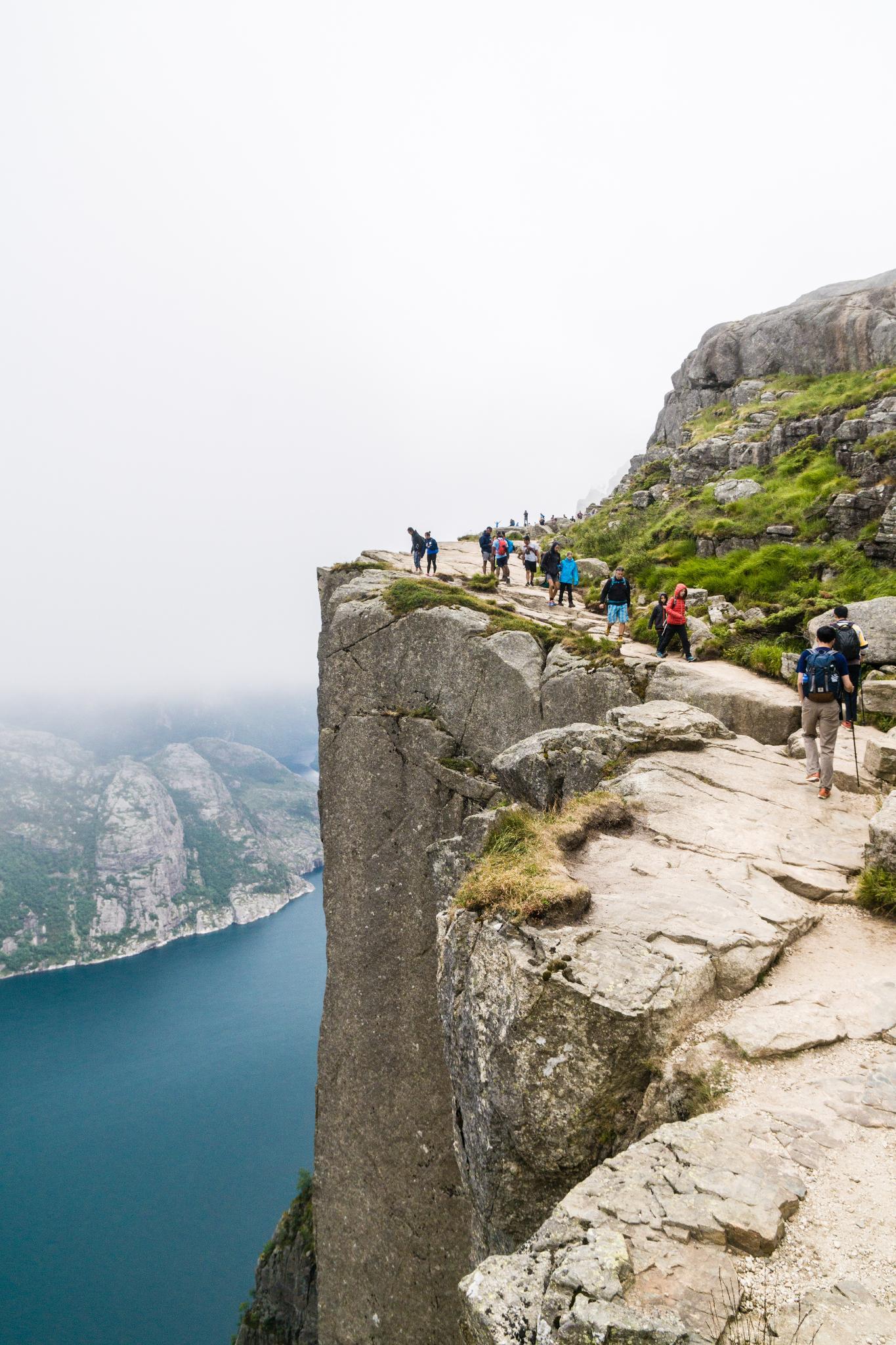 【北歐景點】朝聖挪威三大奇岩:聖壇岩Preikestolen健行紀錄 17