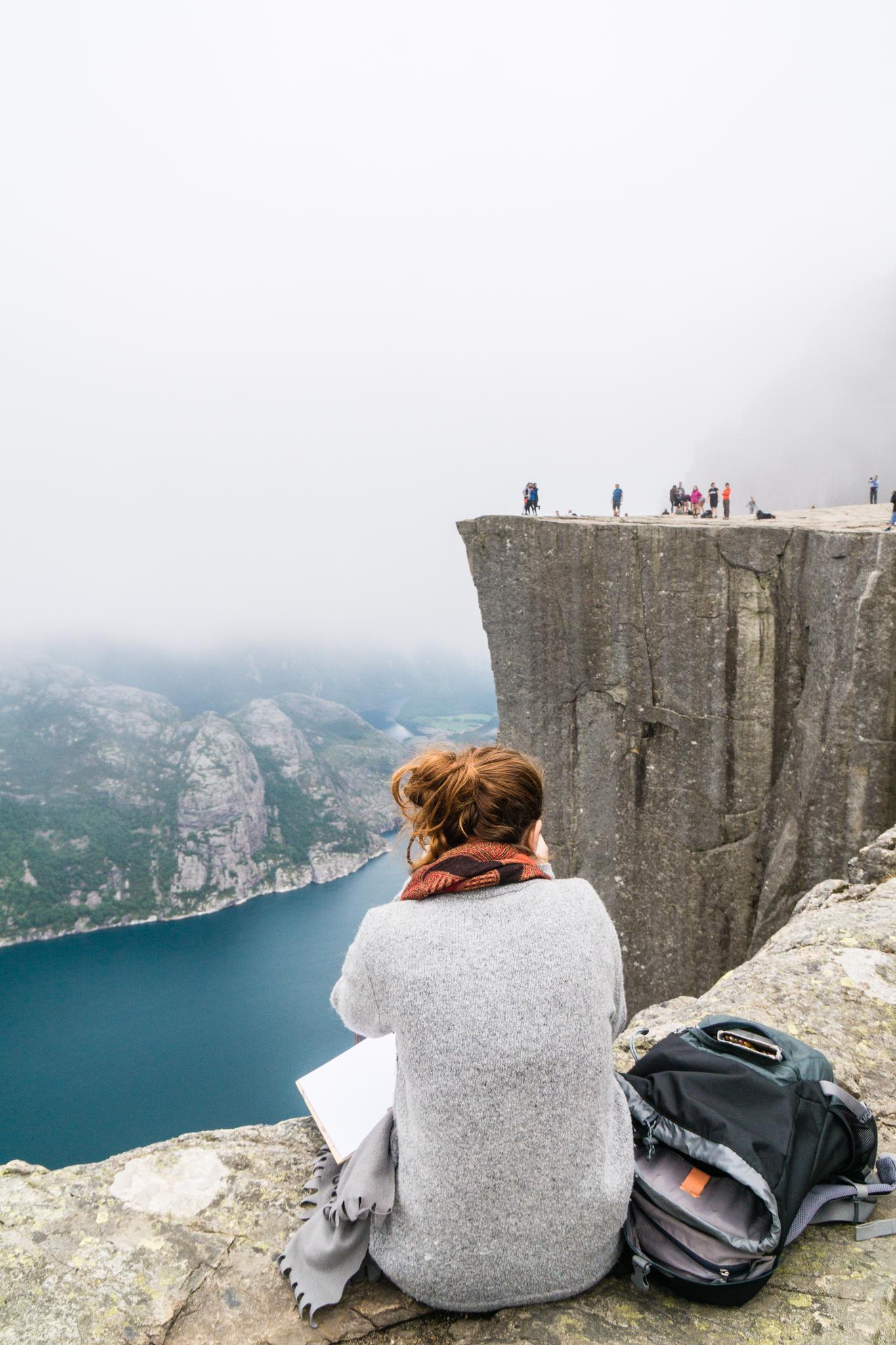 【北歐景點】朝聖挪威三大奇岩:聖壇岩Preikestolen健行紀錄 18