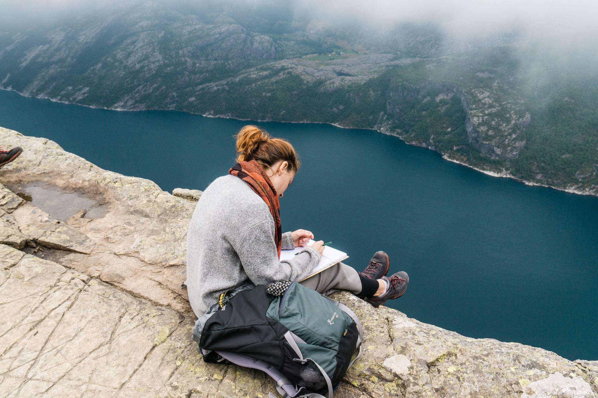 【北歐景點】朝聖挪威三大奇岩:聖壇岩Preikestolen健行紀錄 19