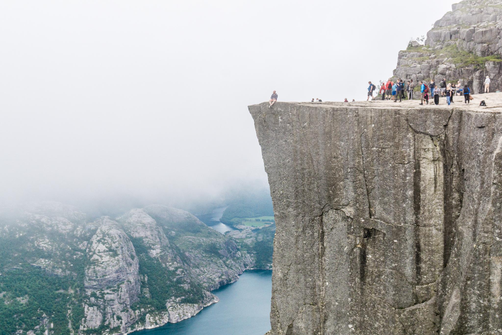 【北歐景點】朝聖挪威三大奇岩:聖壇岩Preikestolen健行紀錄 21
